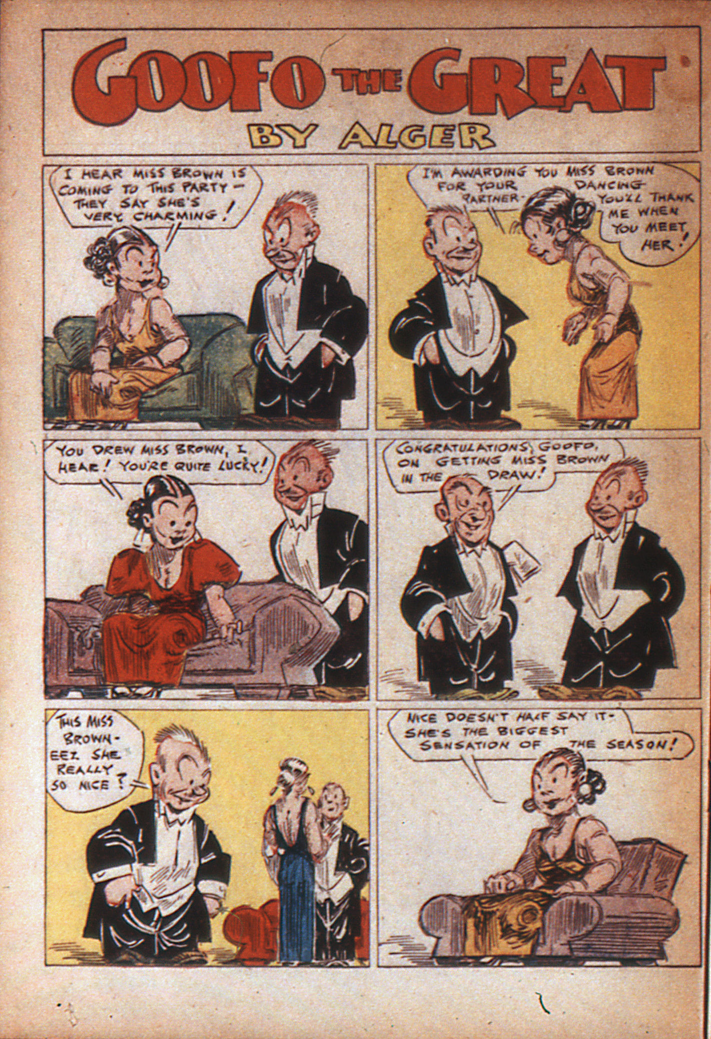 Read online Adventure Comics (1938) comic -  Issue #7 - 54
