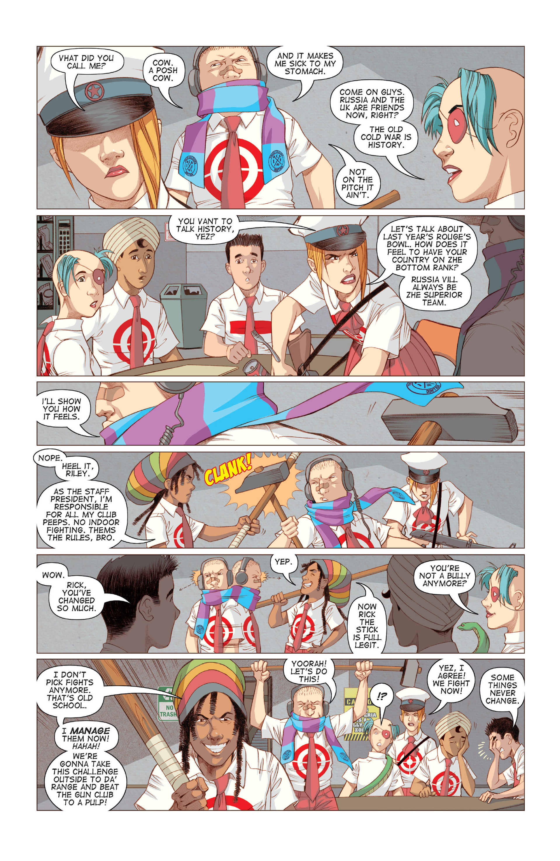 Read online Five Weapons comic -  Issue #6 - 18