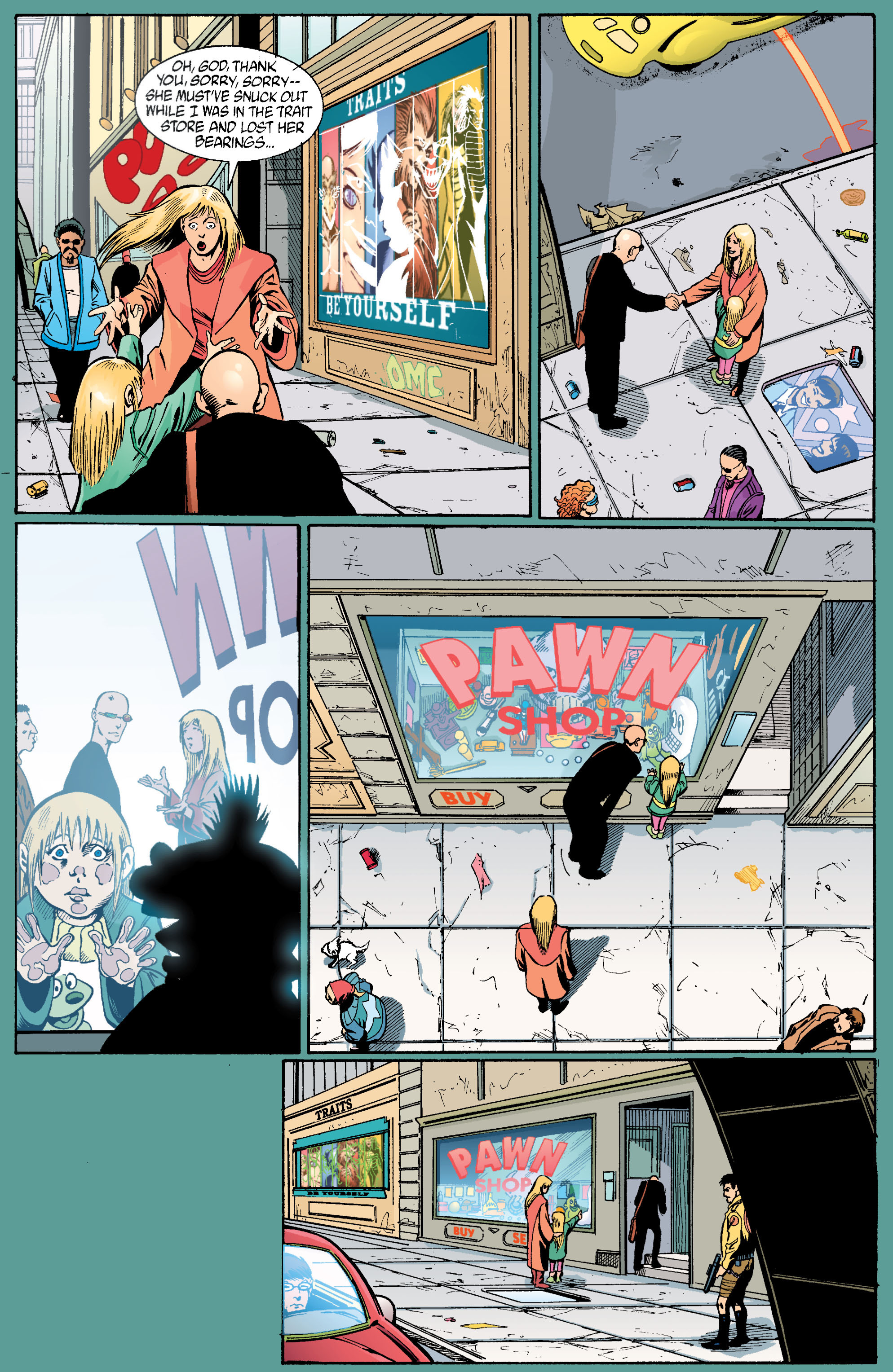 Read online Transmetropolitan comic -  Issue #22 - 22