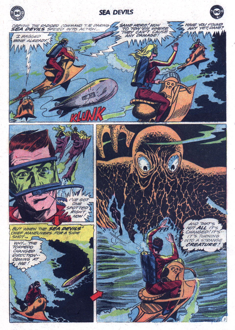 Read online Sea Devils comic -  Issue #17 - 5