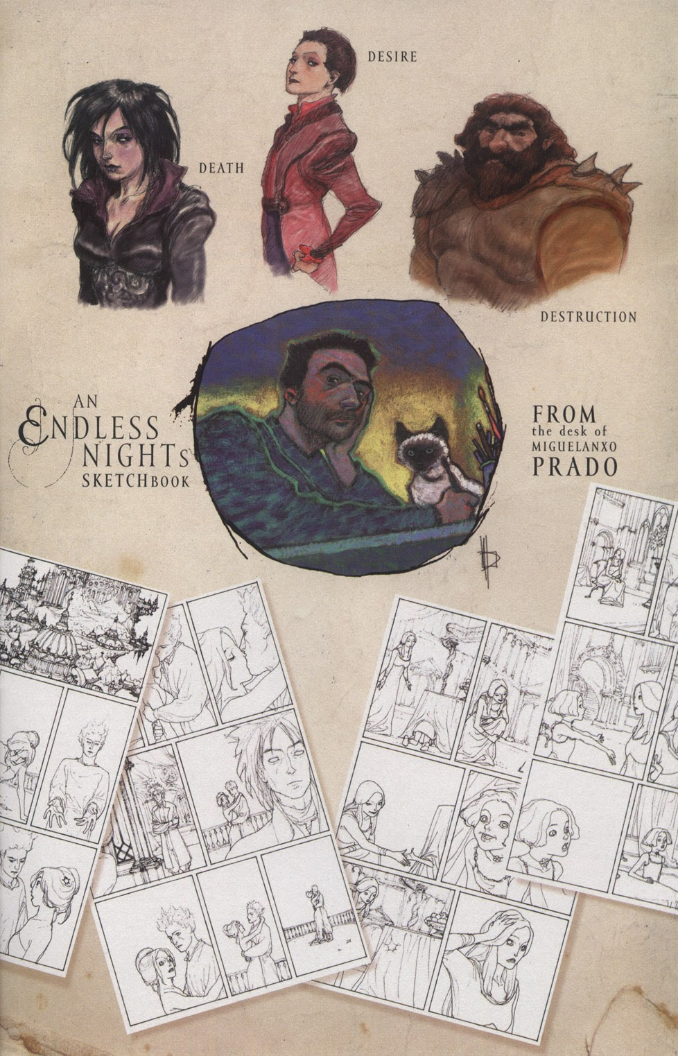 Read online The Sandman: Endless Nights comic -  Issue # _Special - 25
