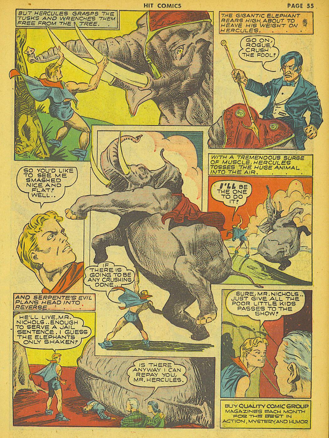 Read online Hit Comics comic -  Issue #21 - 57
