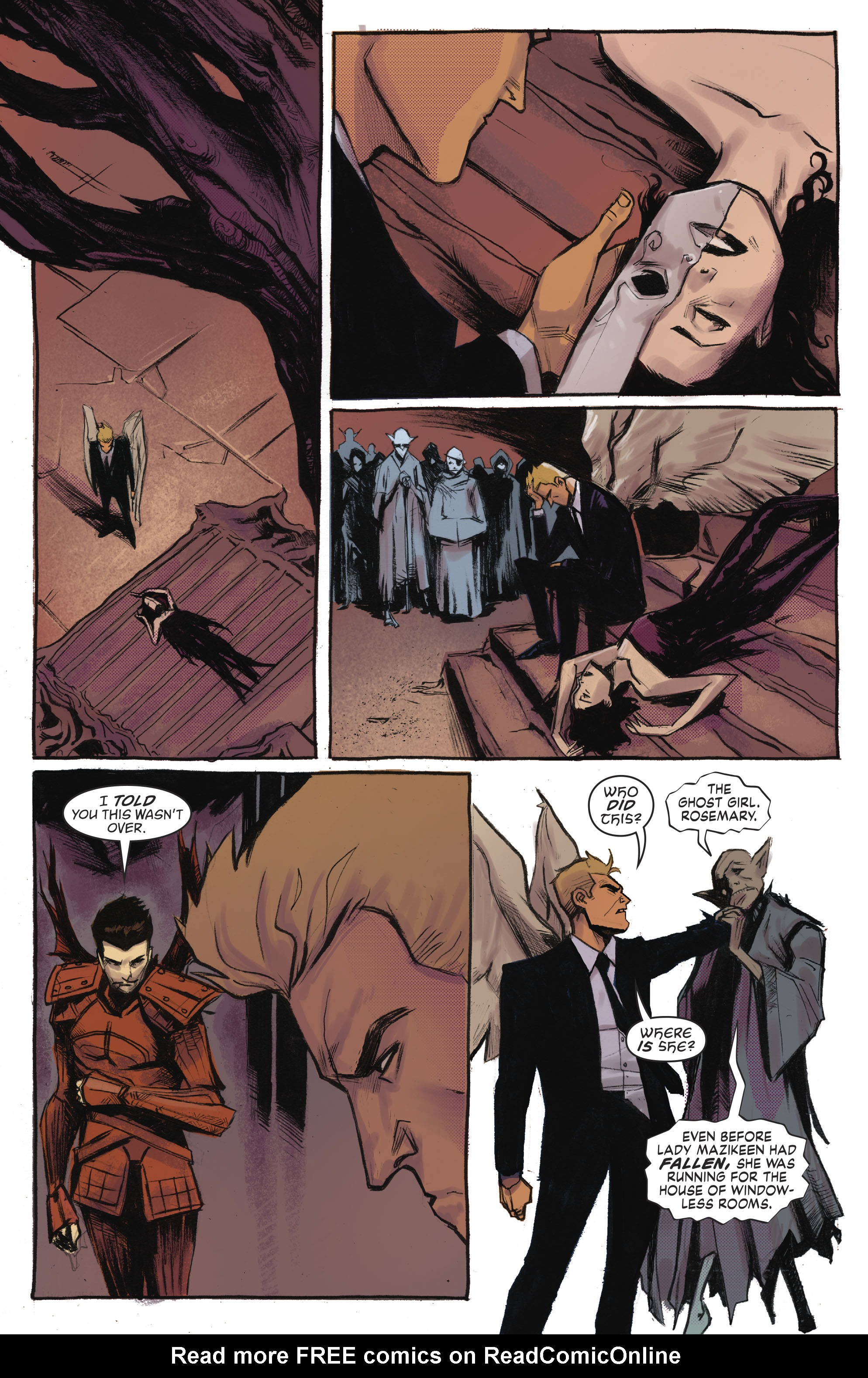 Read online Lucifer (2016) comic -  Issue #18 - 11