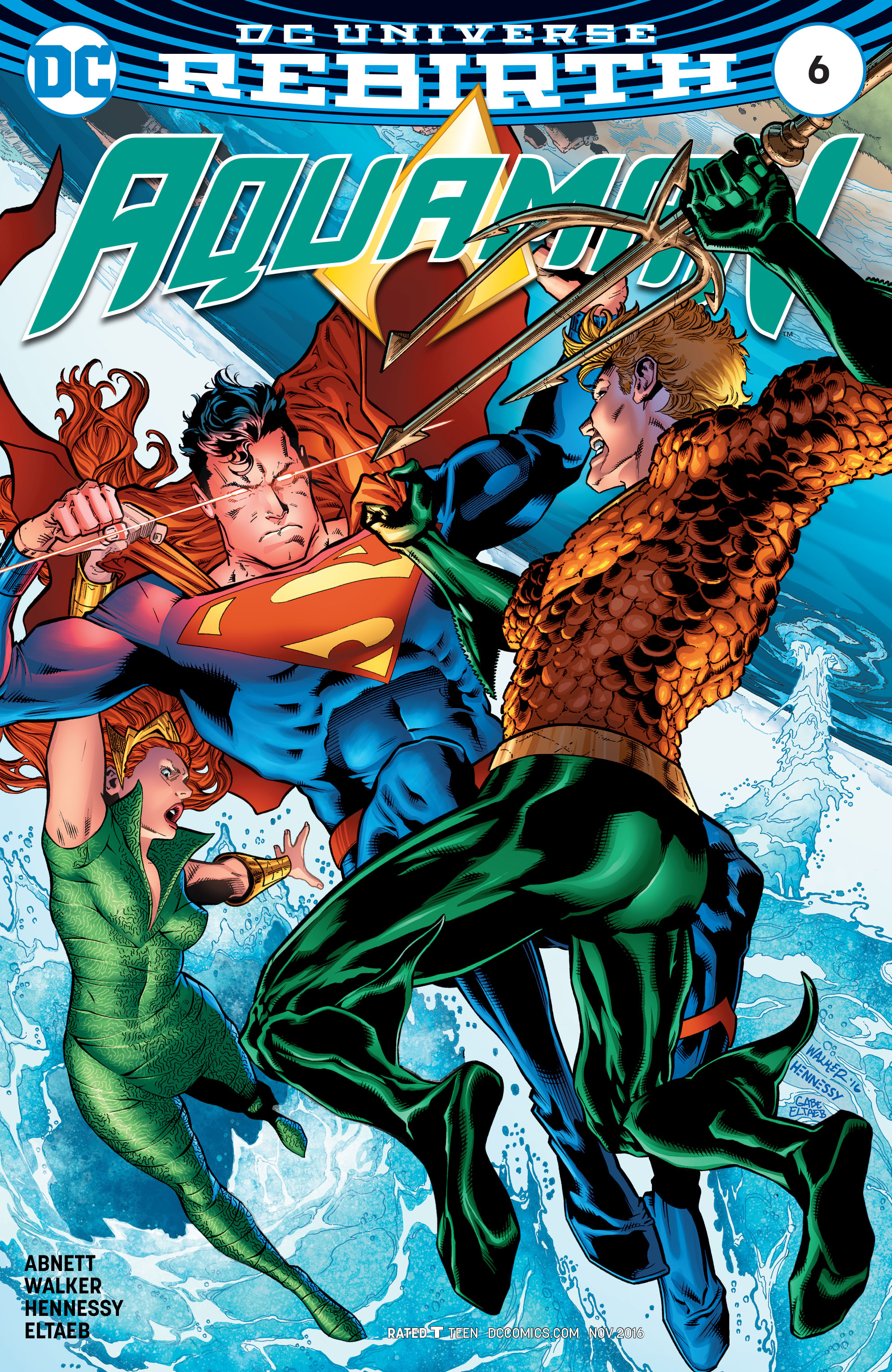 Read online Aquaman (2016) comic -  Issue #6 - 1