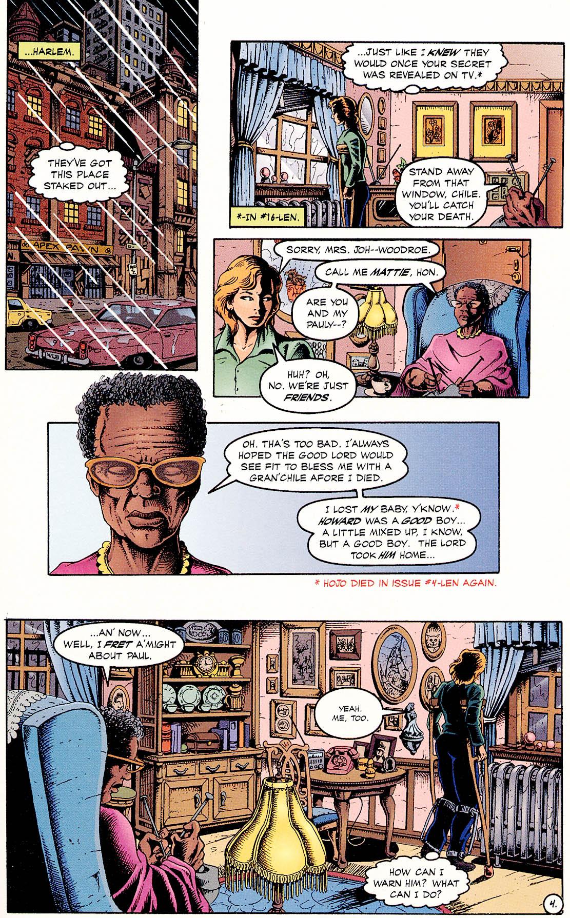 Read online ShadowHawk comic -  Issue #18 - 6