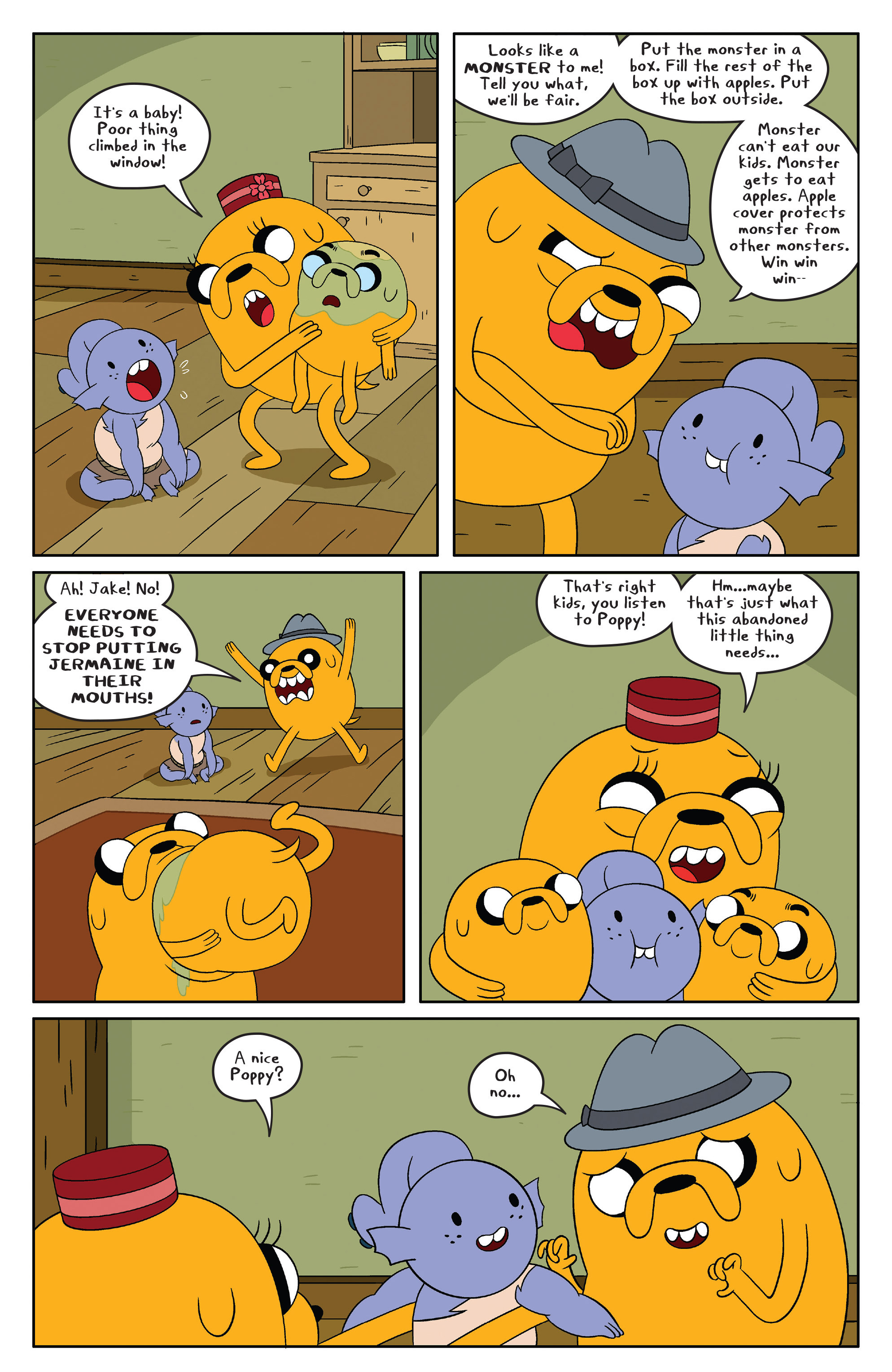 Read online Adventure Time comic -  Issue #48 - 8