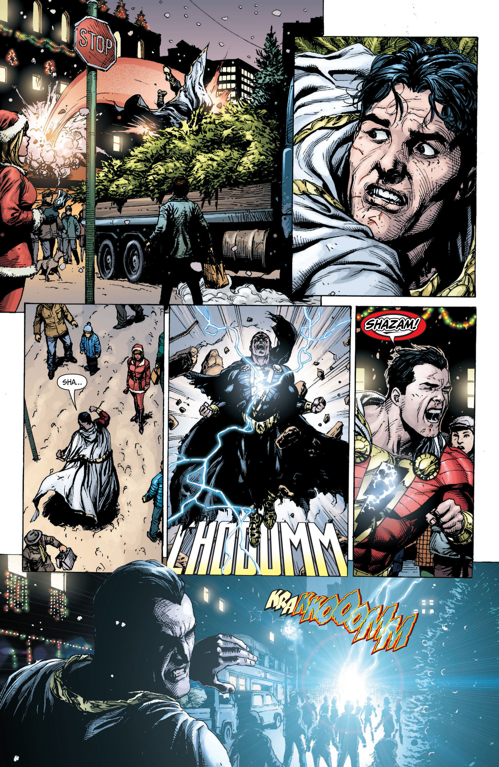 Read online Shazam! (2013) comic -  Issue #1 - 122