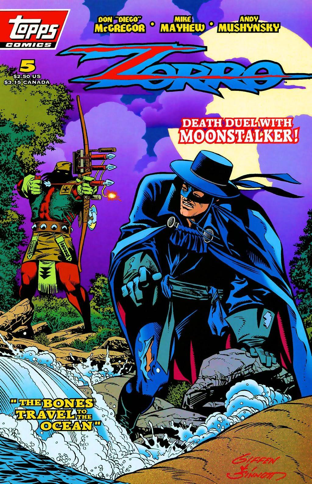 Zorro (1993) 5 Page 1