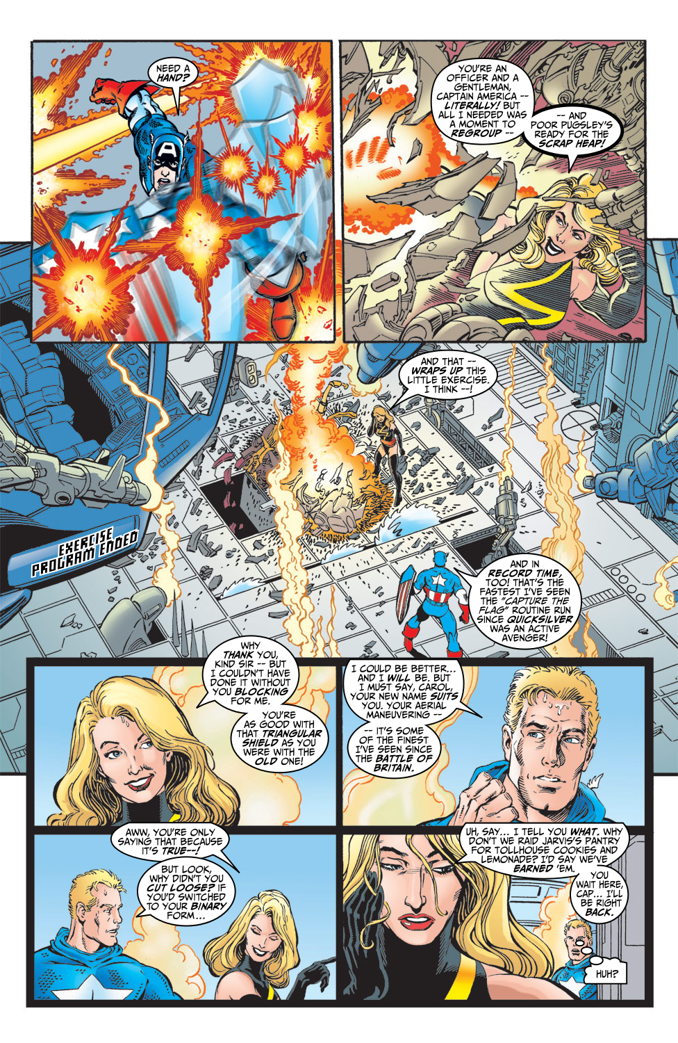 Read online Avengers (1998) comic -  Issue #5 - 4