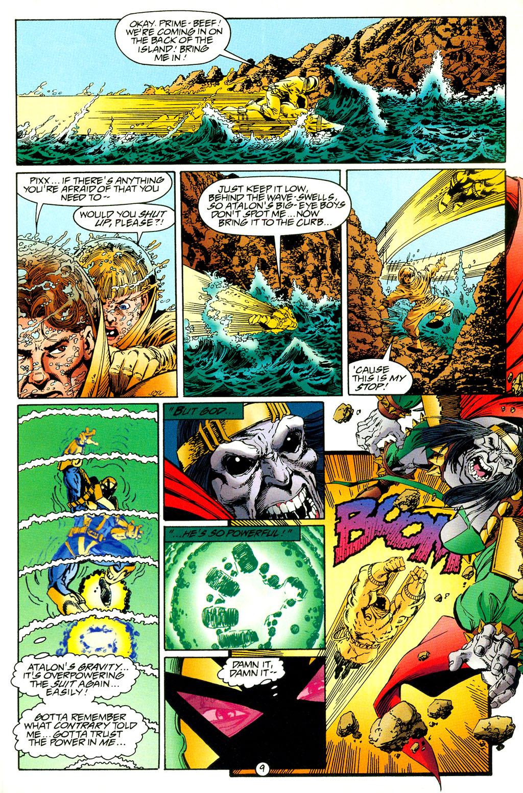 Read online UltraForce (1994) comic -  Issue #5 - 10