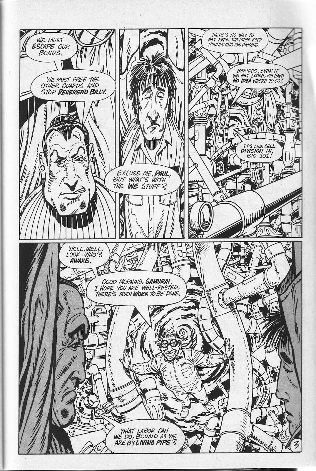 Read online Paul the Samurai (1991) comic -  Issue # TPB - 39