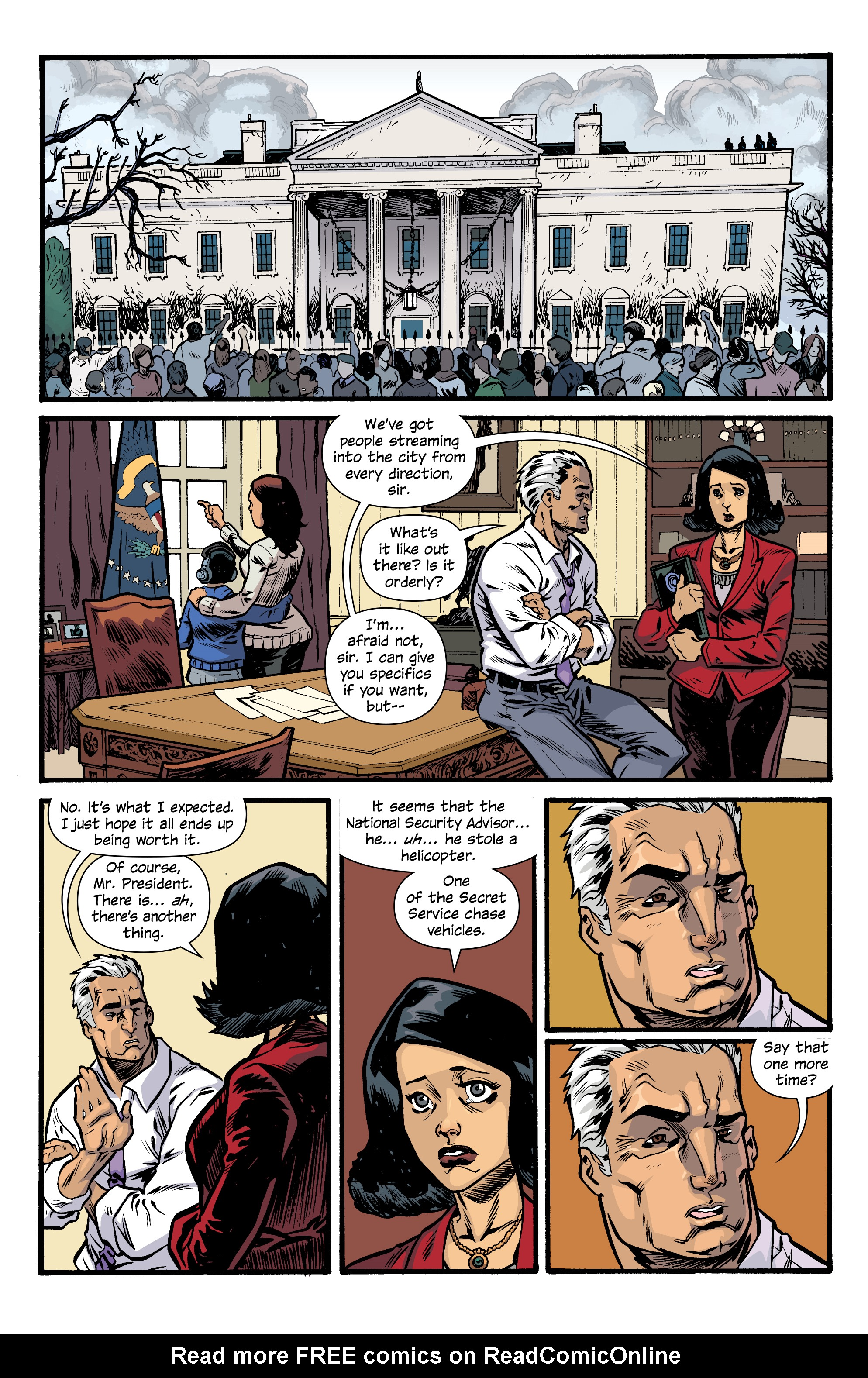 Read online Letter 44 comic -  Issue #33 - 19