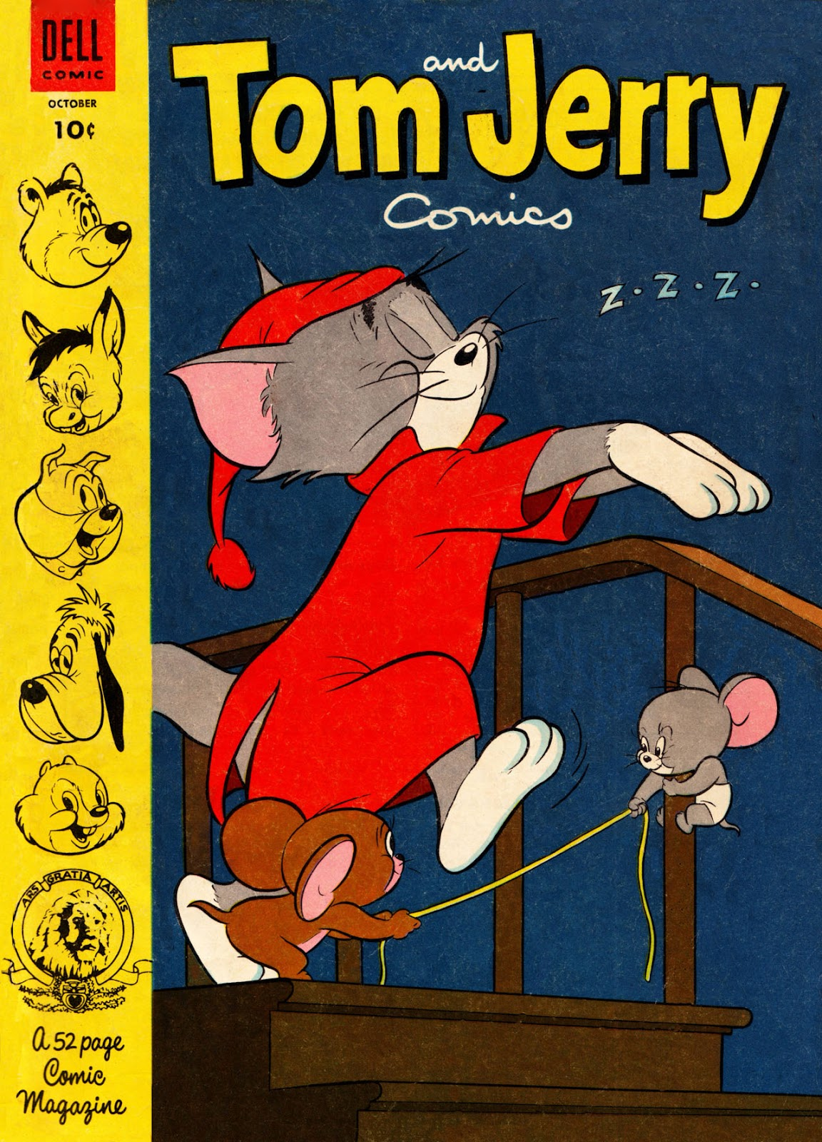 Tom & Jerry Comics issue 111 - Page 1