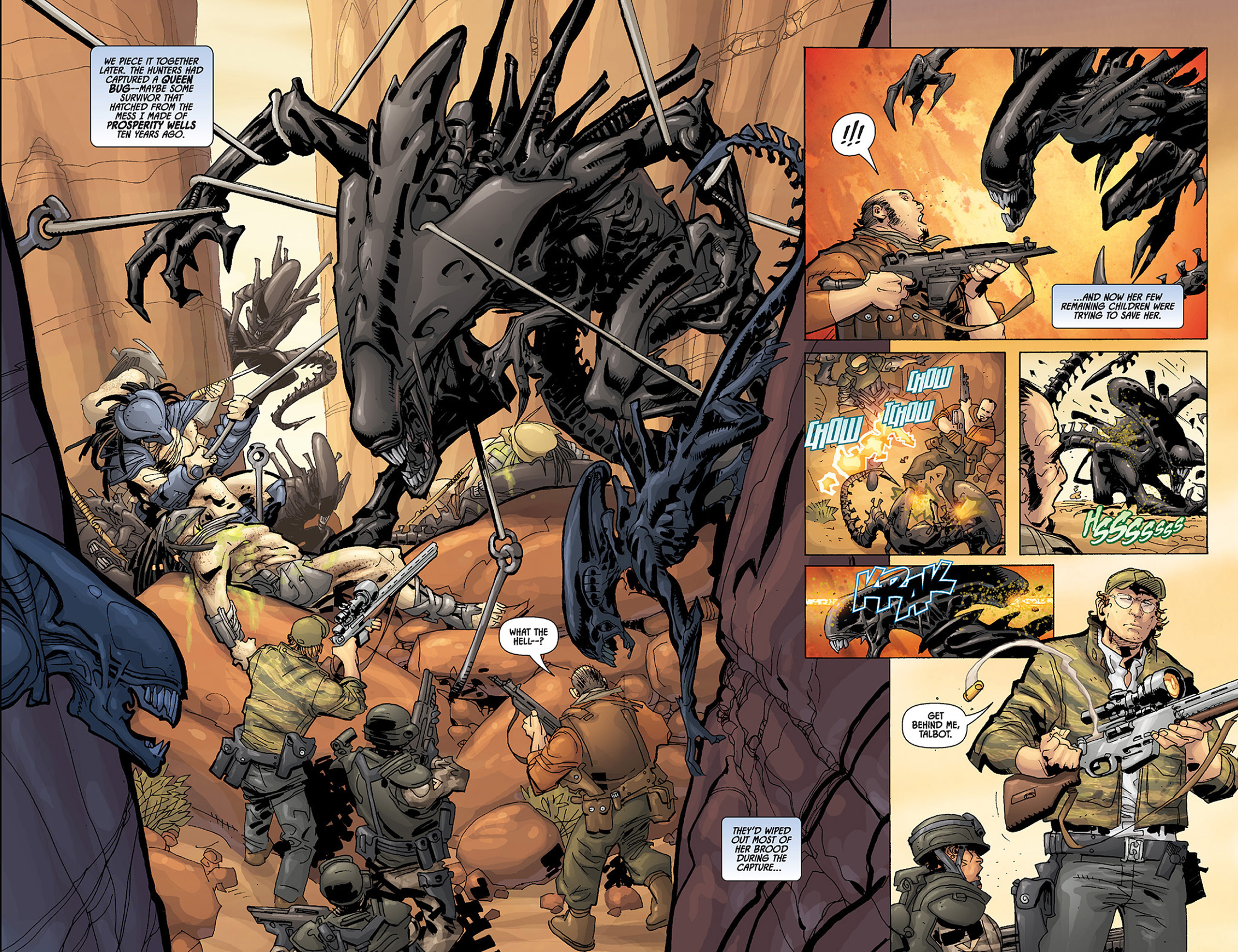 Read online Aliens vs. Predator: Three World War comic -  Issue #3 - 14
