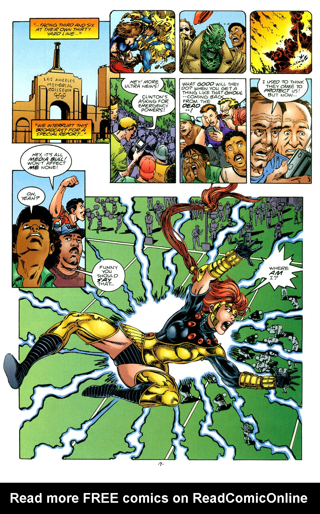 Read online UltraForce (1994) comic -  Issue #1 - 8