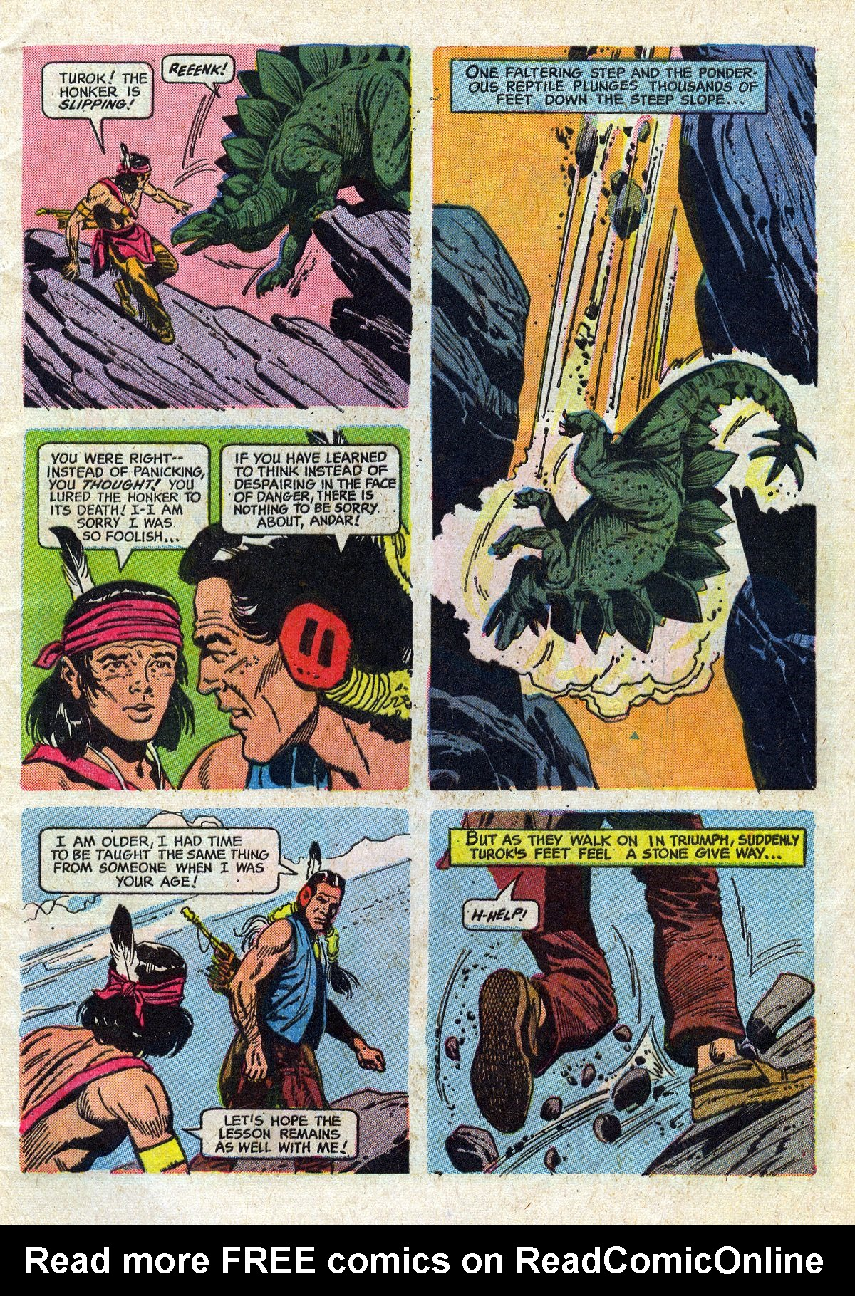 Read online Turok, Son of Stone comic -  Issue #61 - 5