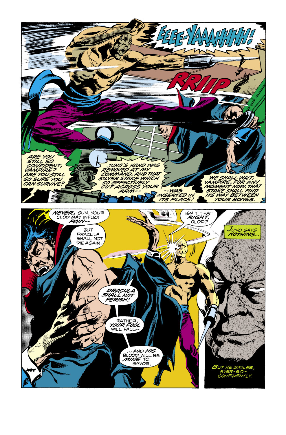 Tomb of Dracula (1972) issue 39 - Page 7