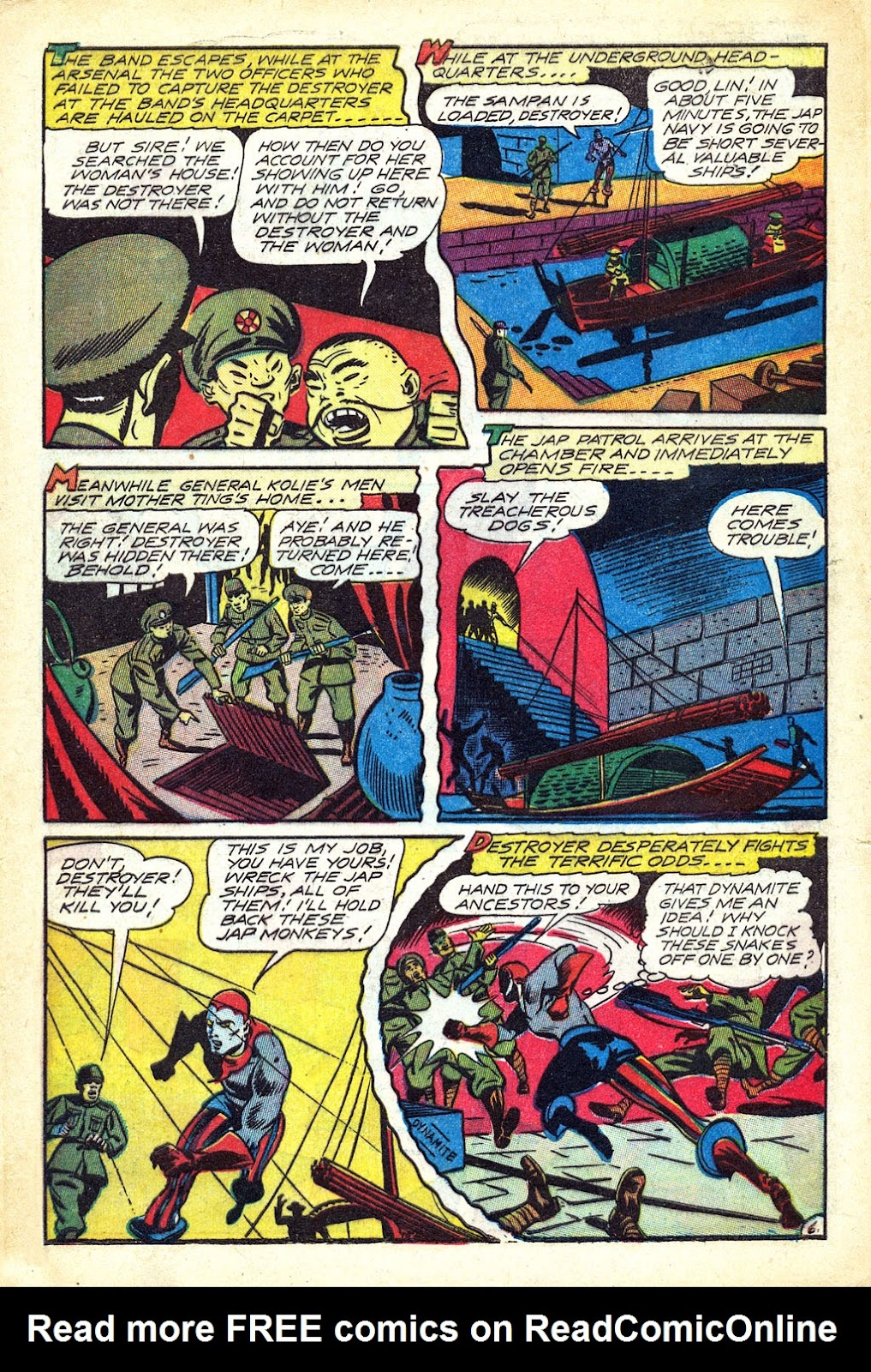 Read online Mystic Comics (1944) comic -  Issue #3 - 32