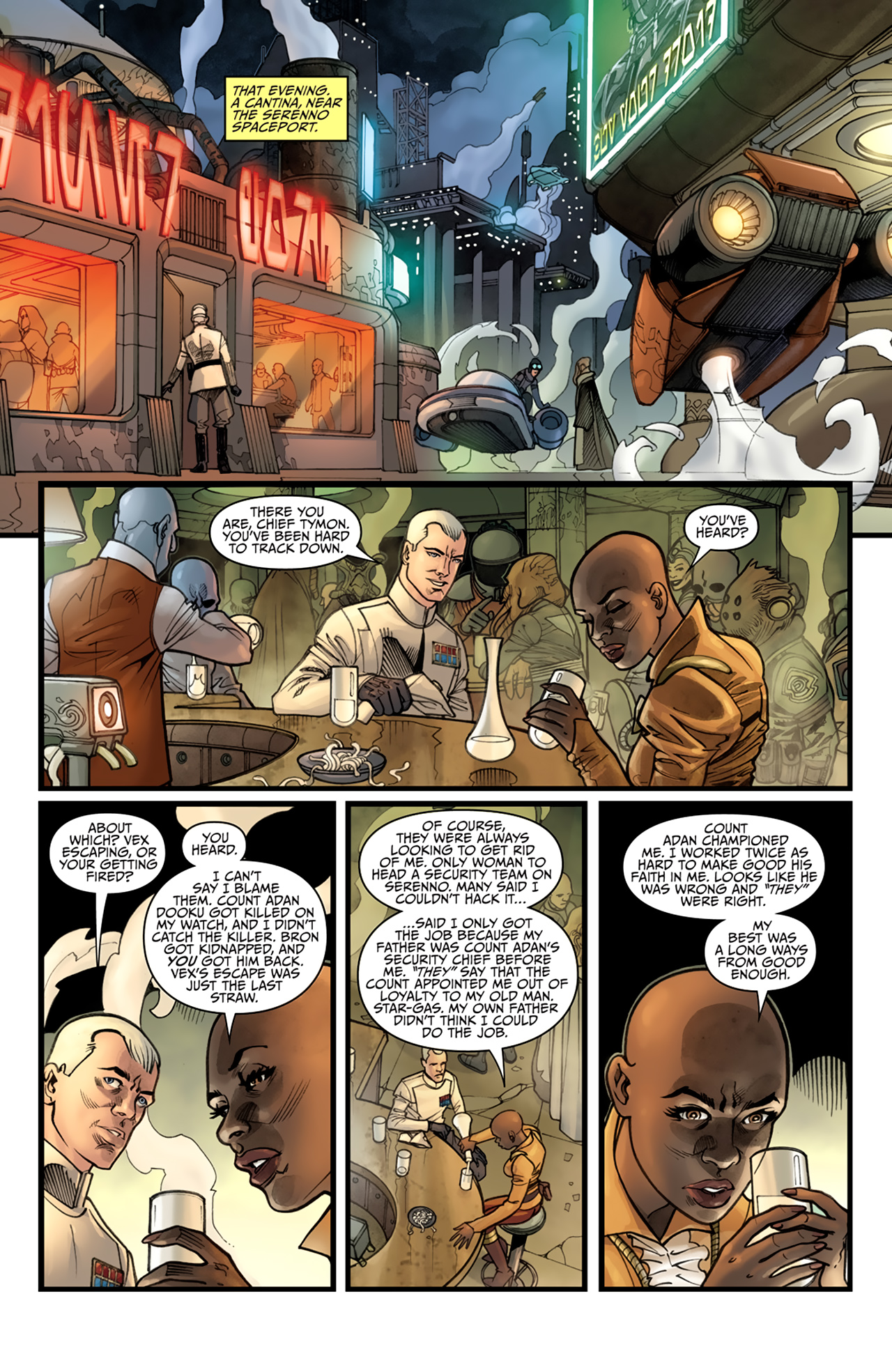 Read online Star Wars: Agent Of The Empire - Hard Targets comic -  Issue #4 - 3