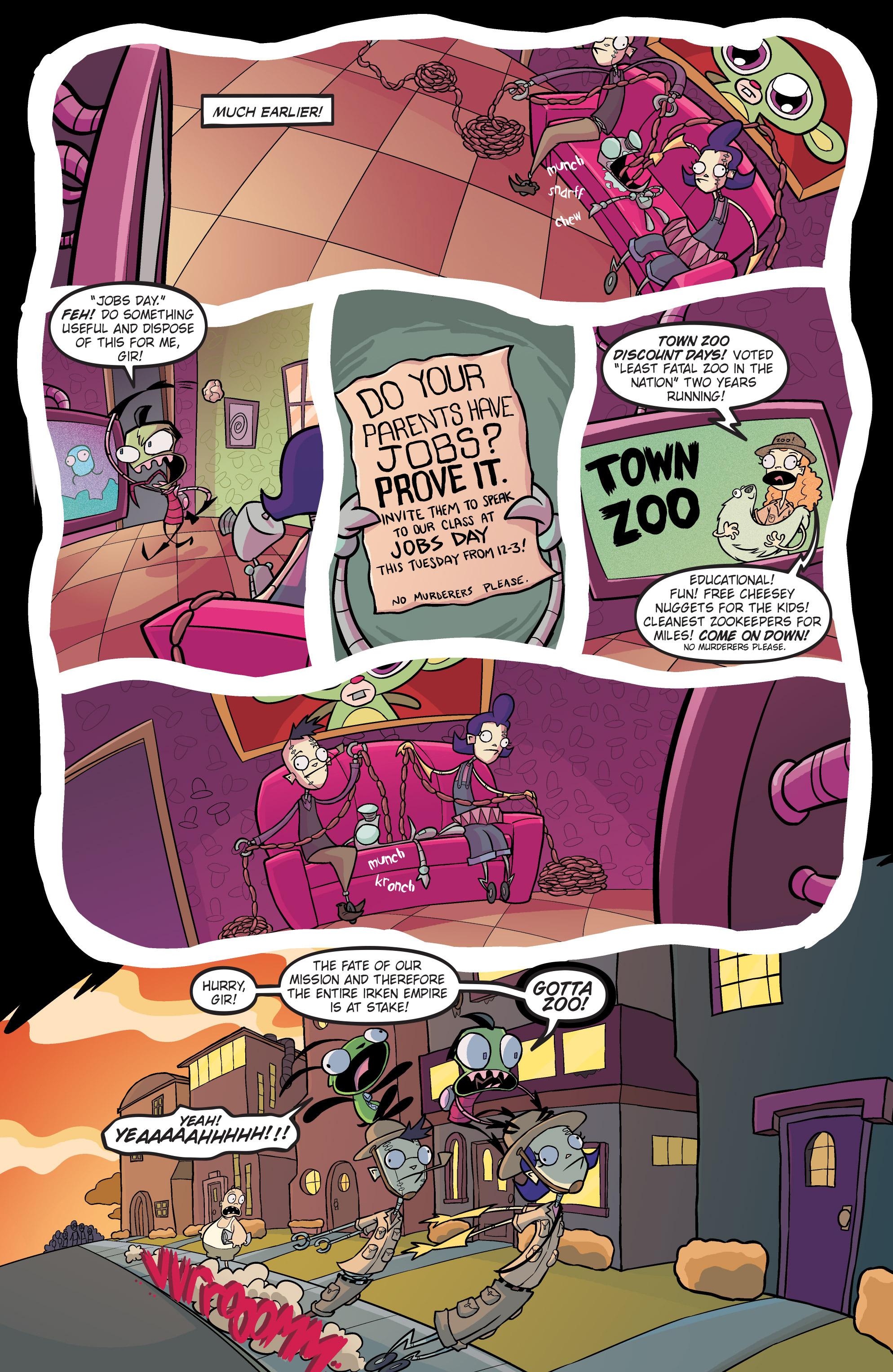 Read online Invader Zim comic -  Issue #19 - 6
