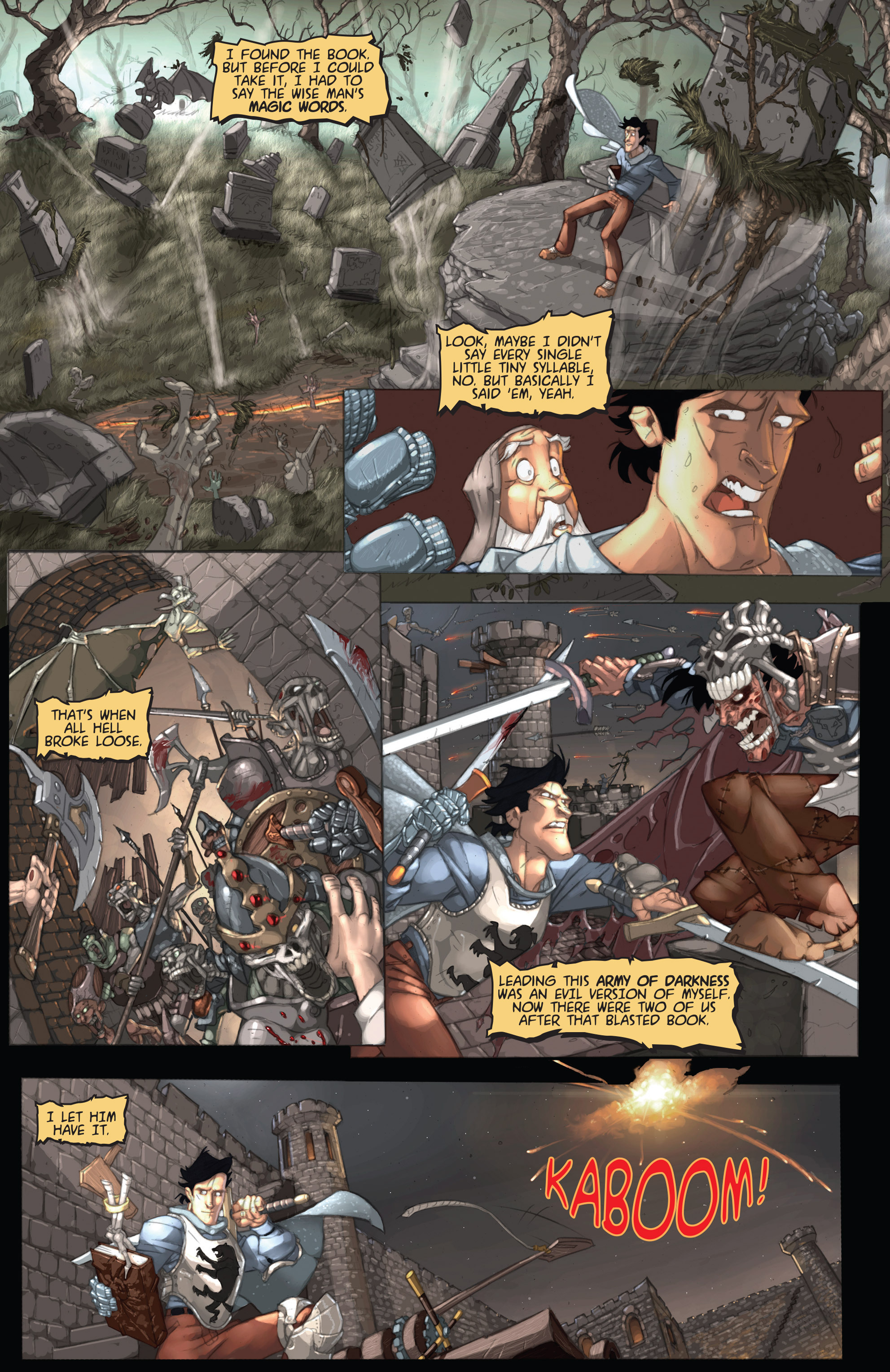 Read online Army of Darkness: Ashes 2 Ashes comic -  Issue #1 - 13