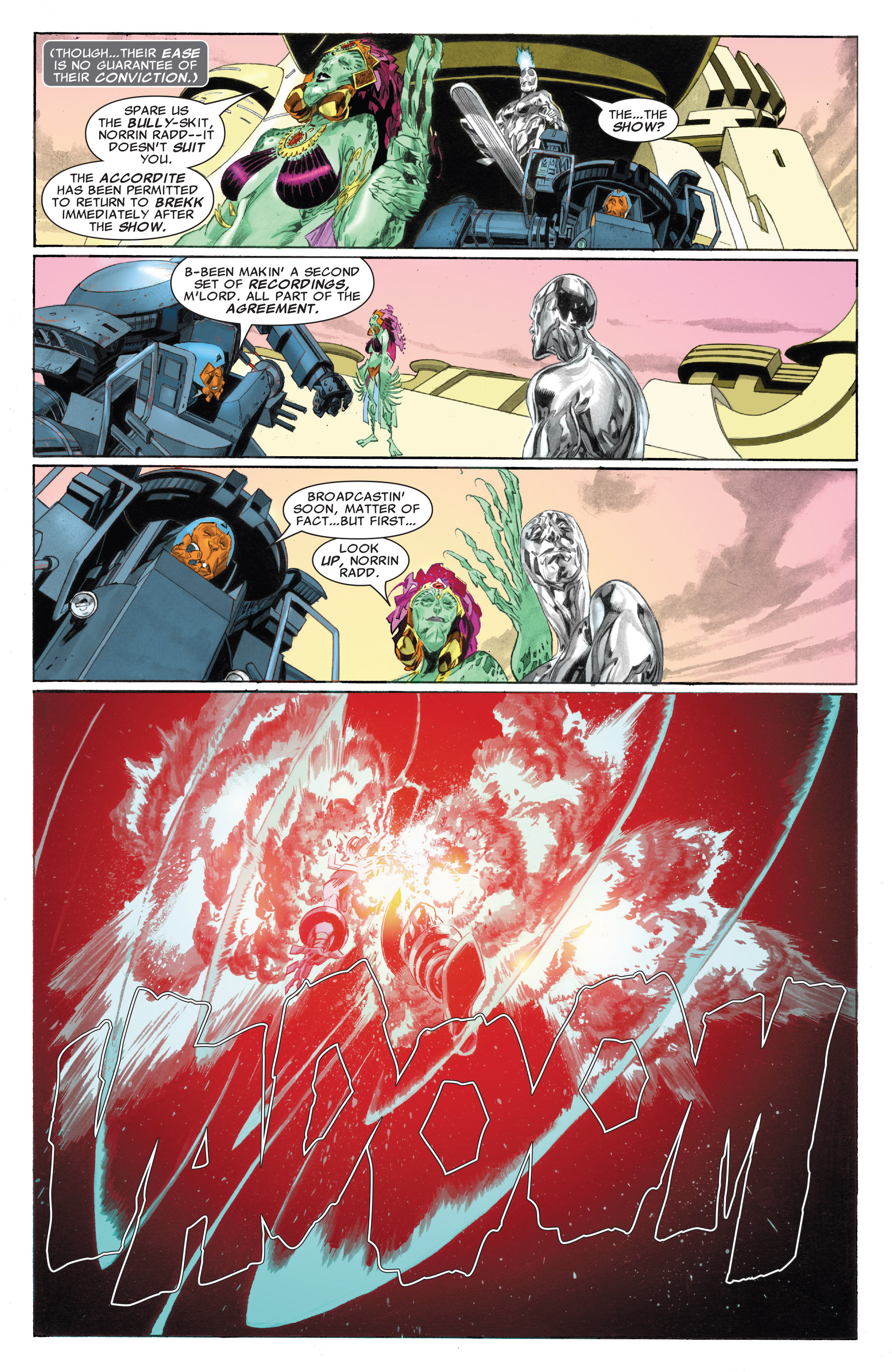 Read online Silver Surfer: In Thy Name comic -  Issue #4 - 12