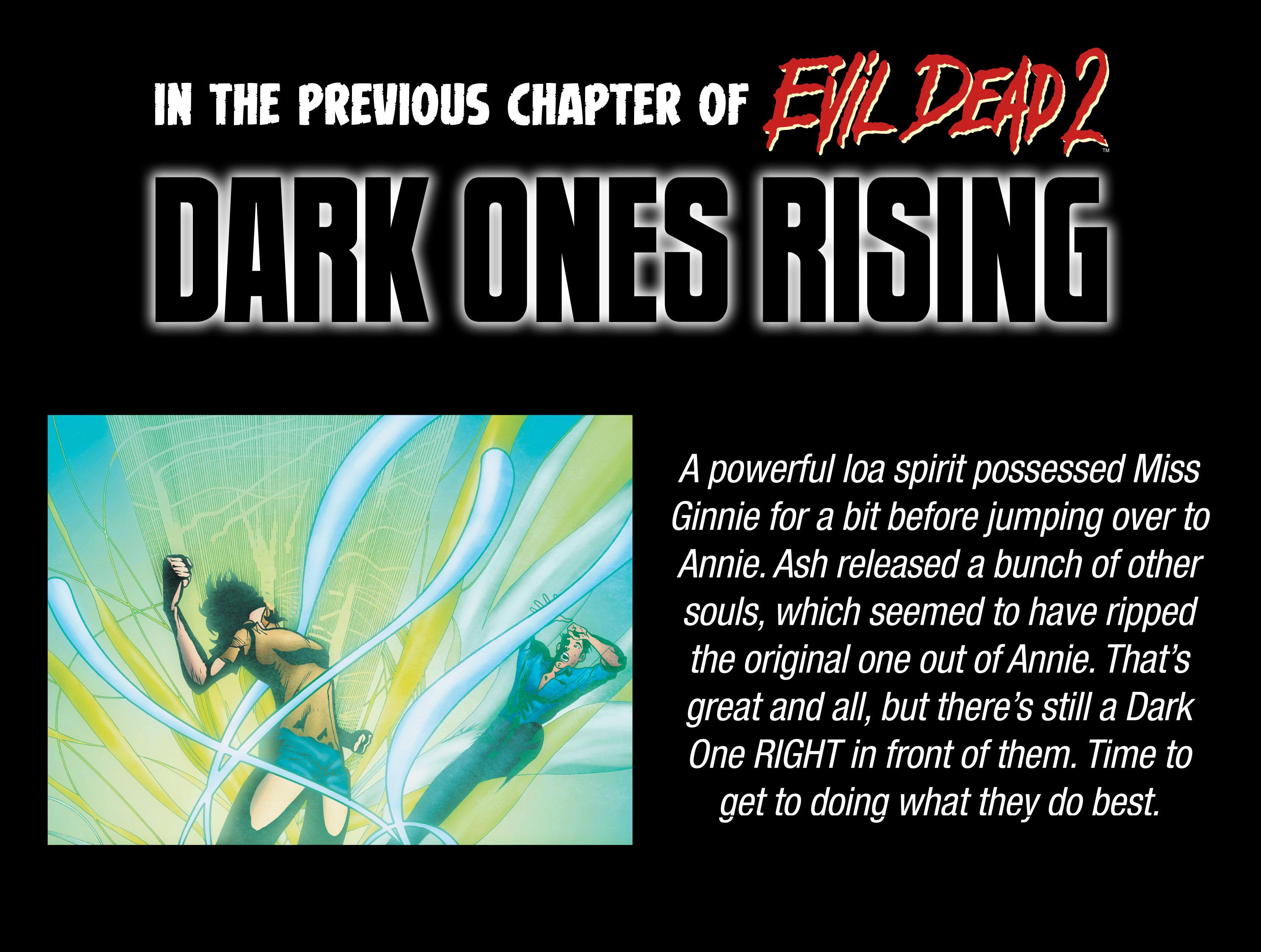 Read online Evil Dead 2: Dark Ones Rising comic -  Issue #5 - 3