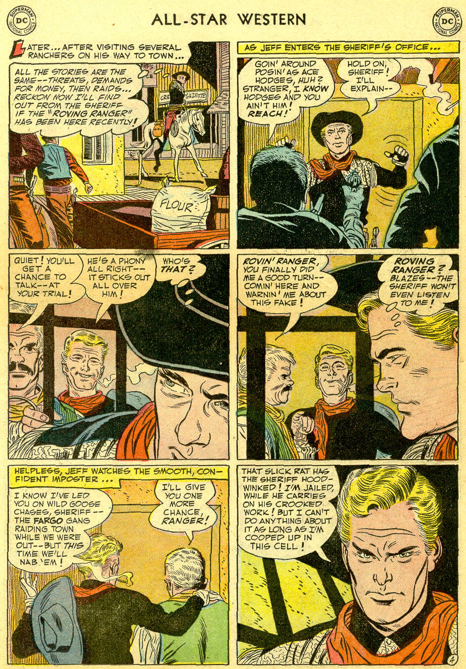 Read online All-Star Western (1951) comic -  Issue #64 - 15