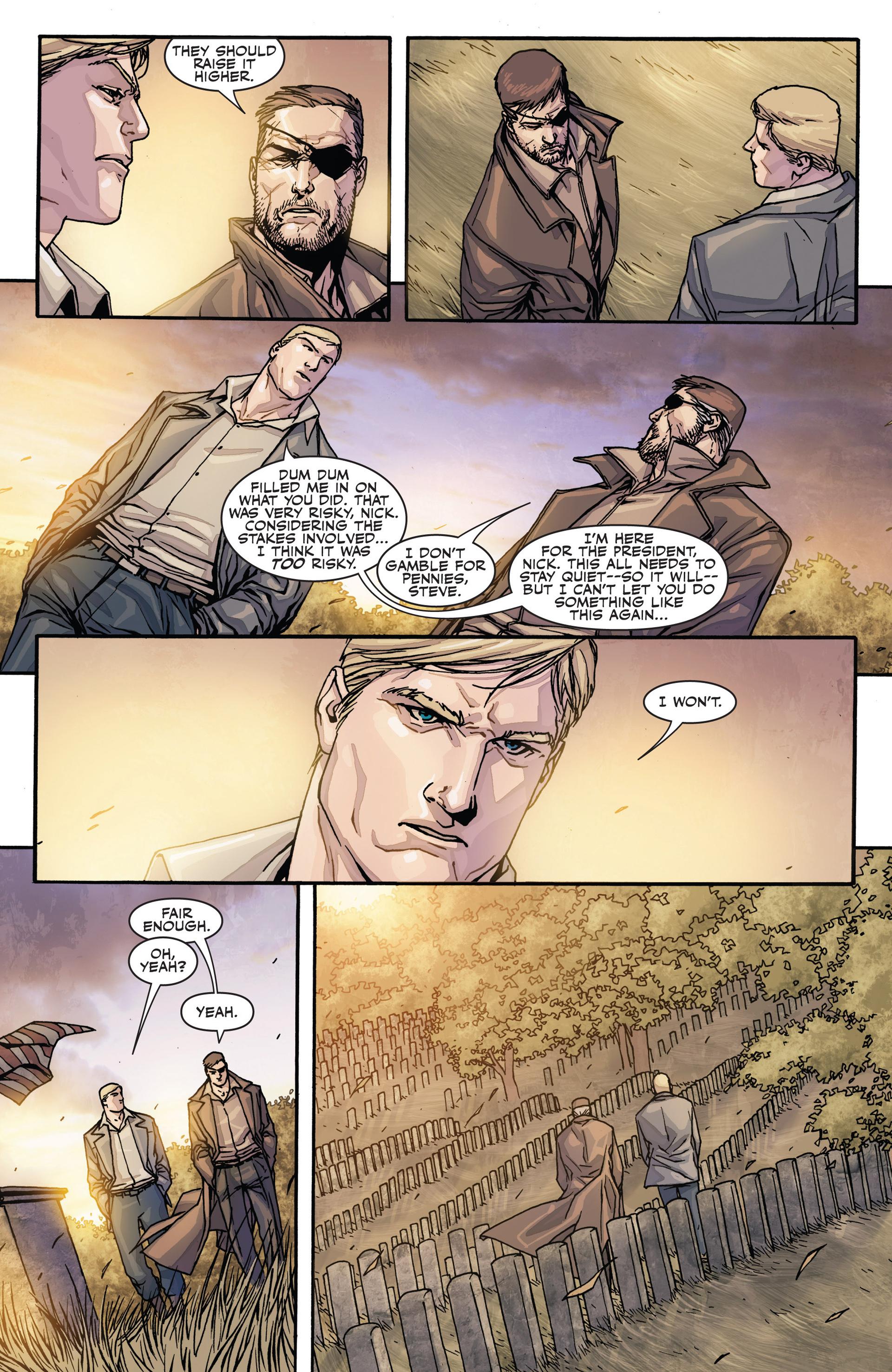 Read online Secret Warriors comic -  Issue #28 - 21