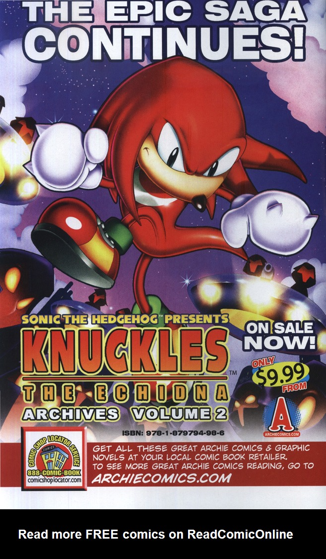 Read online Sonic the Hedgehog Free Comic Book Day Edition comic -  Issue # Special 6 - 2