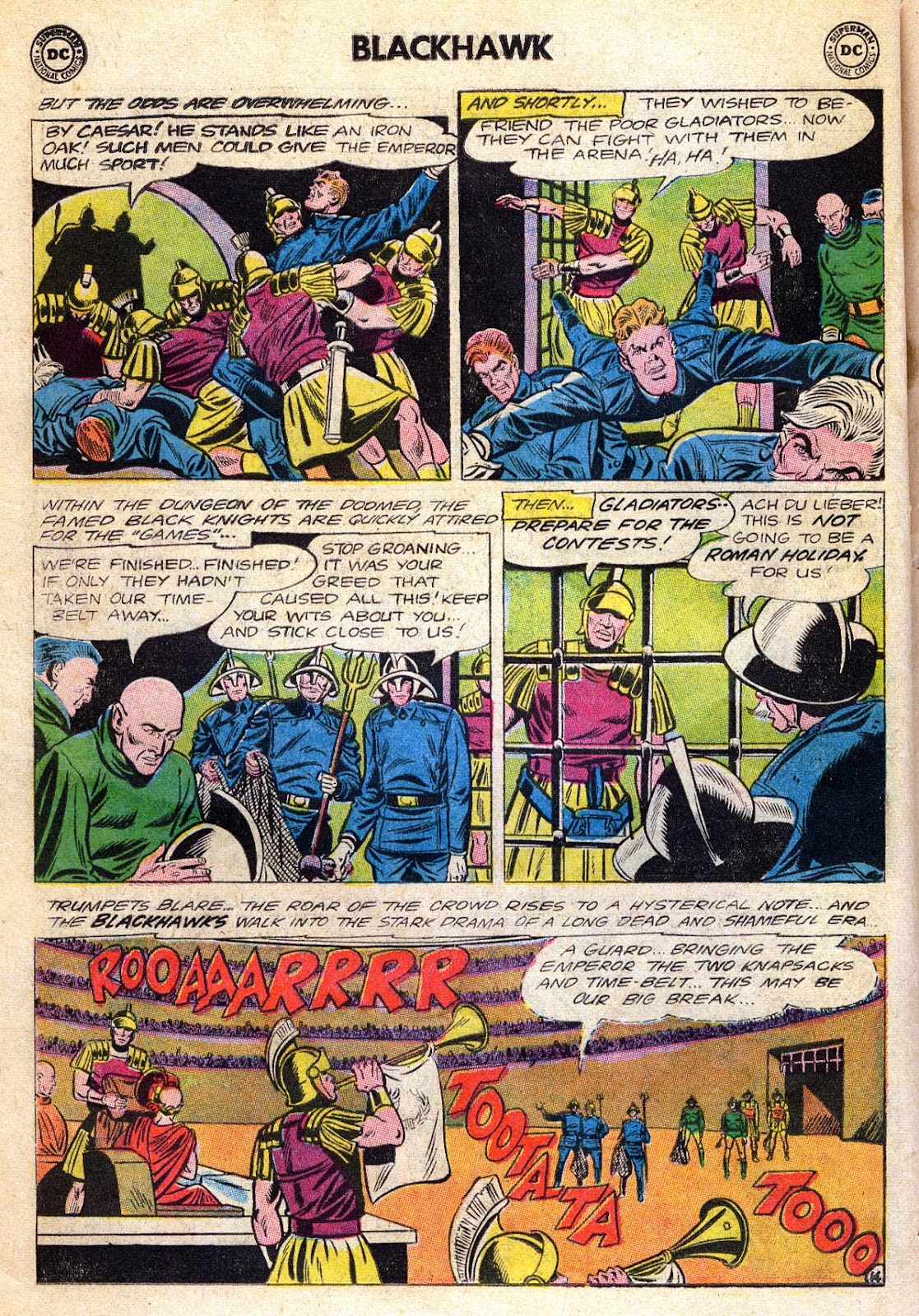 Blackhawk (1957) Issue #189 #82 - English 18