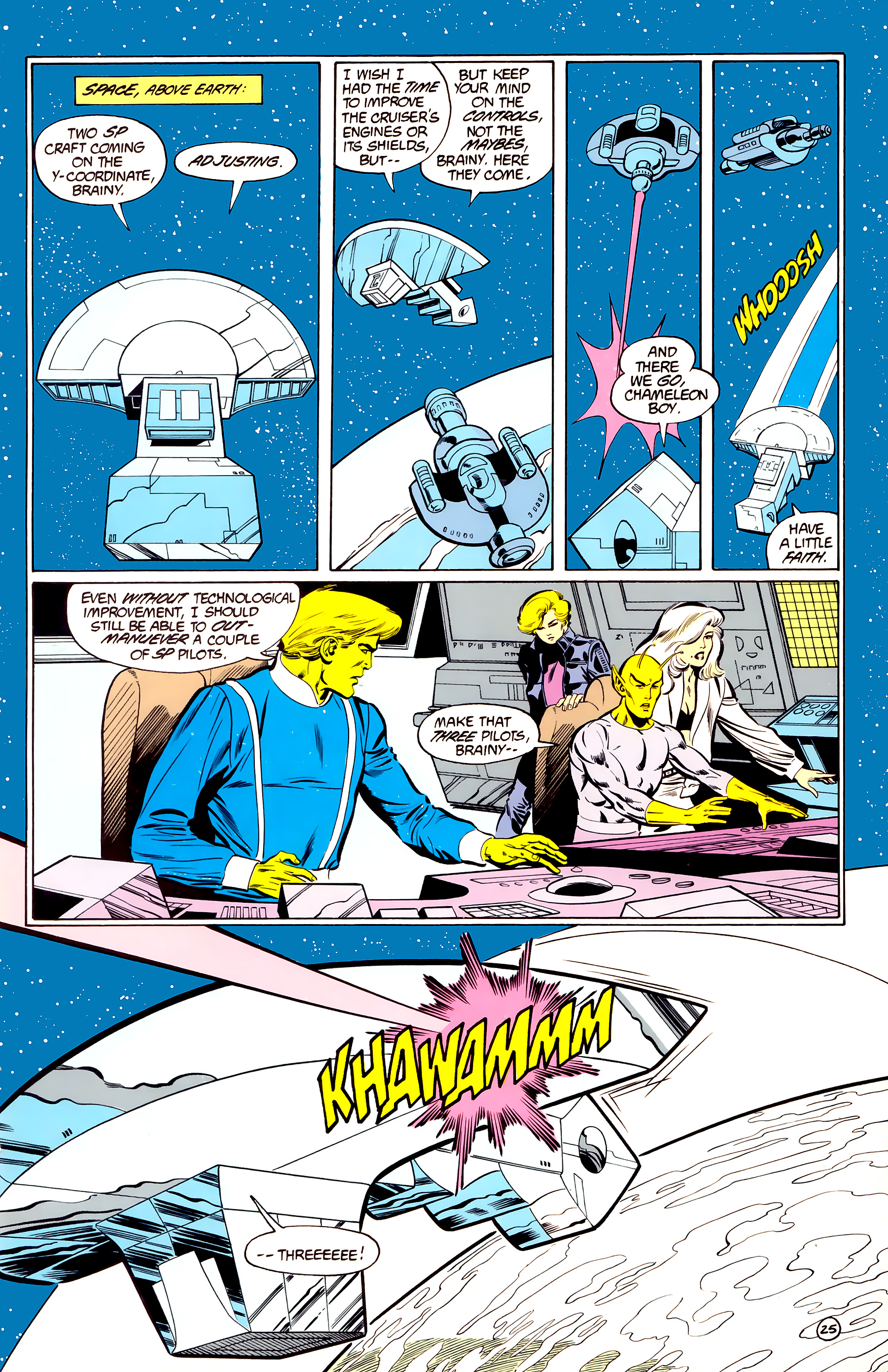 Legion of Super-Heroes (1984) 34 Page 25