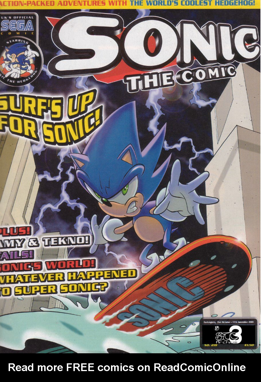 Read online Sonic the Comic comic -  Issue #219 - 1