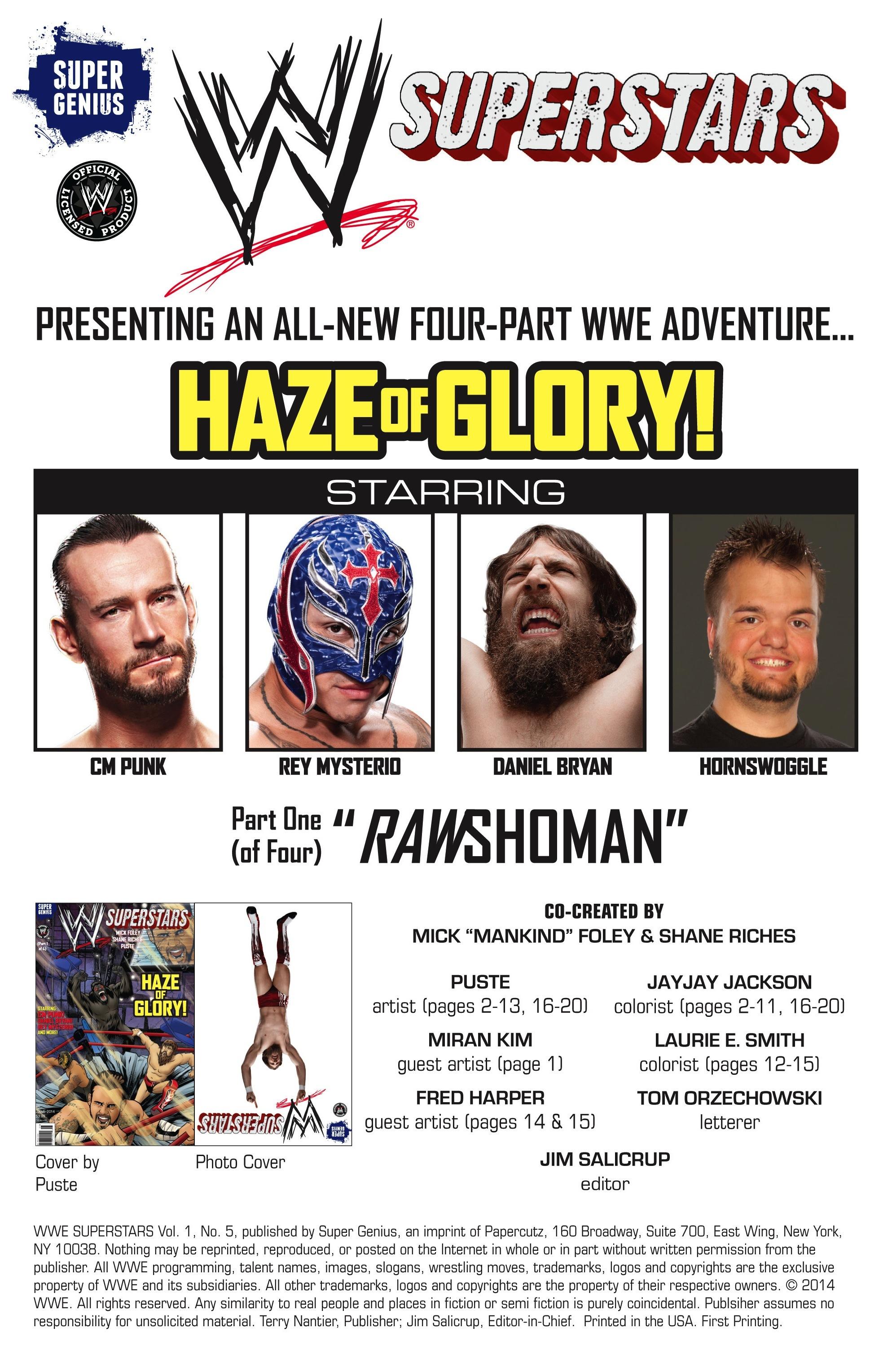 Read online WWE Superstars comic -  Issue #5 - 2