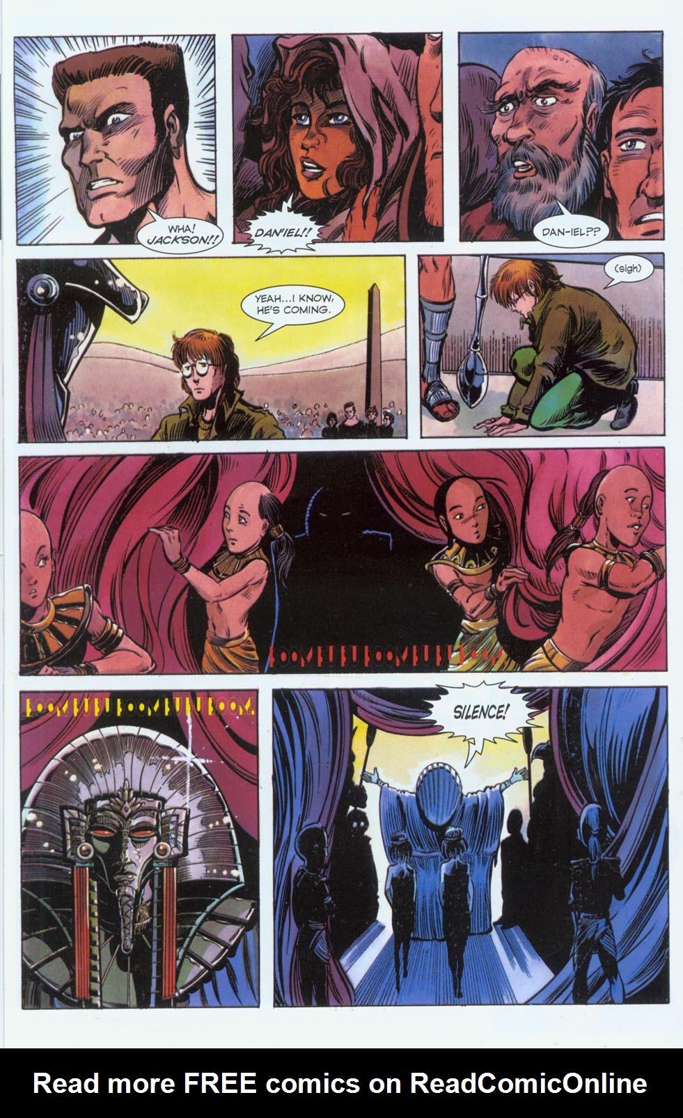 Read online Stargate comic -  Issue #3 - 16
