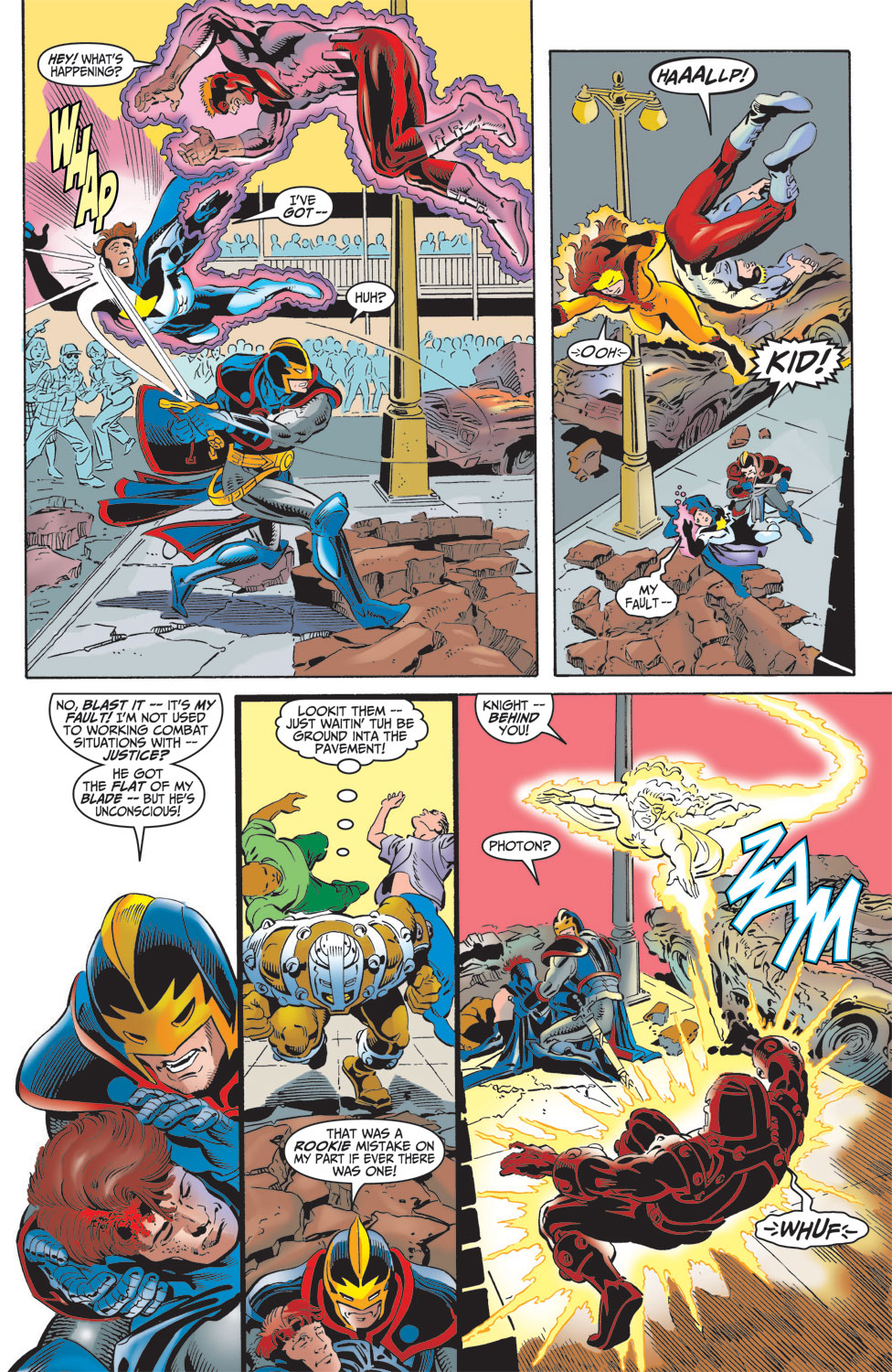 Read online Avengers (1998) comic -  Issue #16 - 18