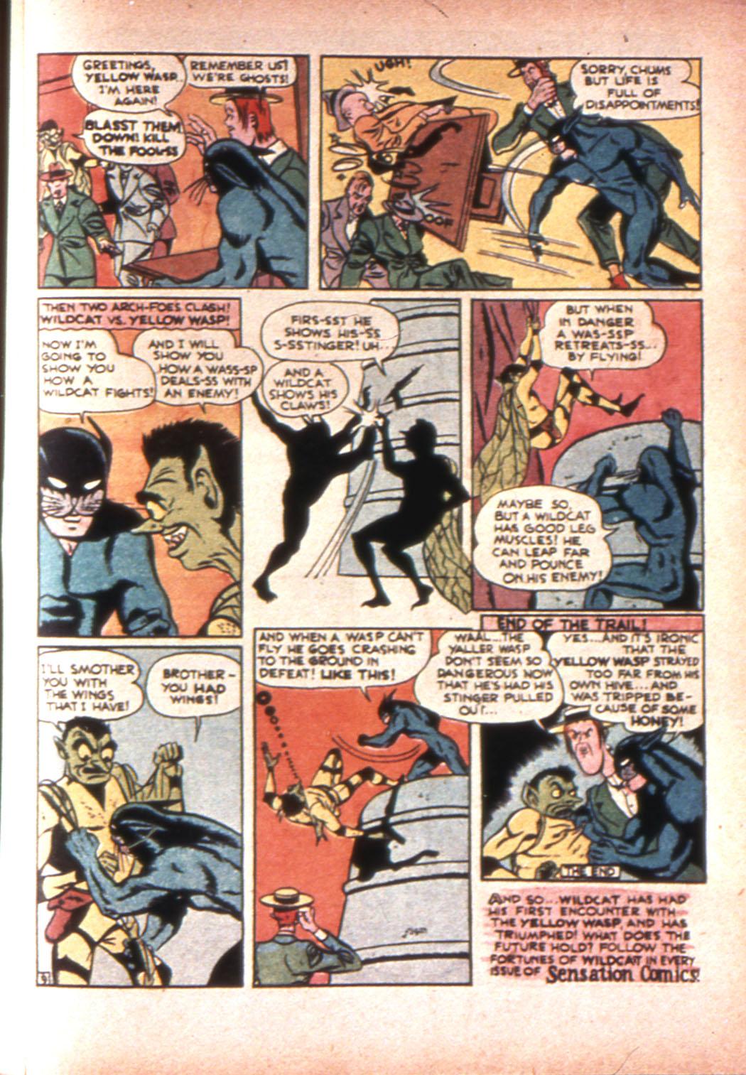 Read online Sensation (Mystery) Comics comic -  Issue #20 - 57