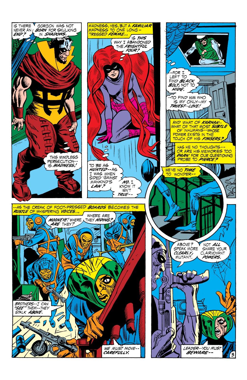 Read online Marvel Masterworks: The Inhumans comic -  Issue # TPB 1 (Part 2) - 60
