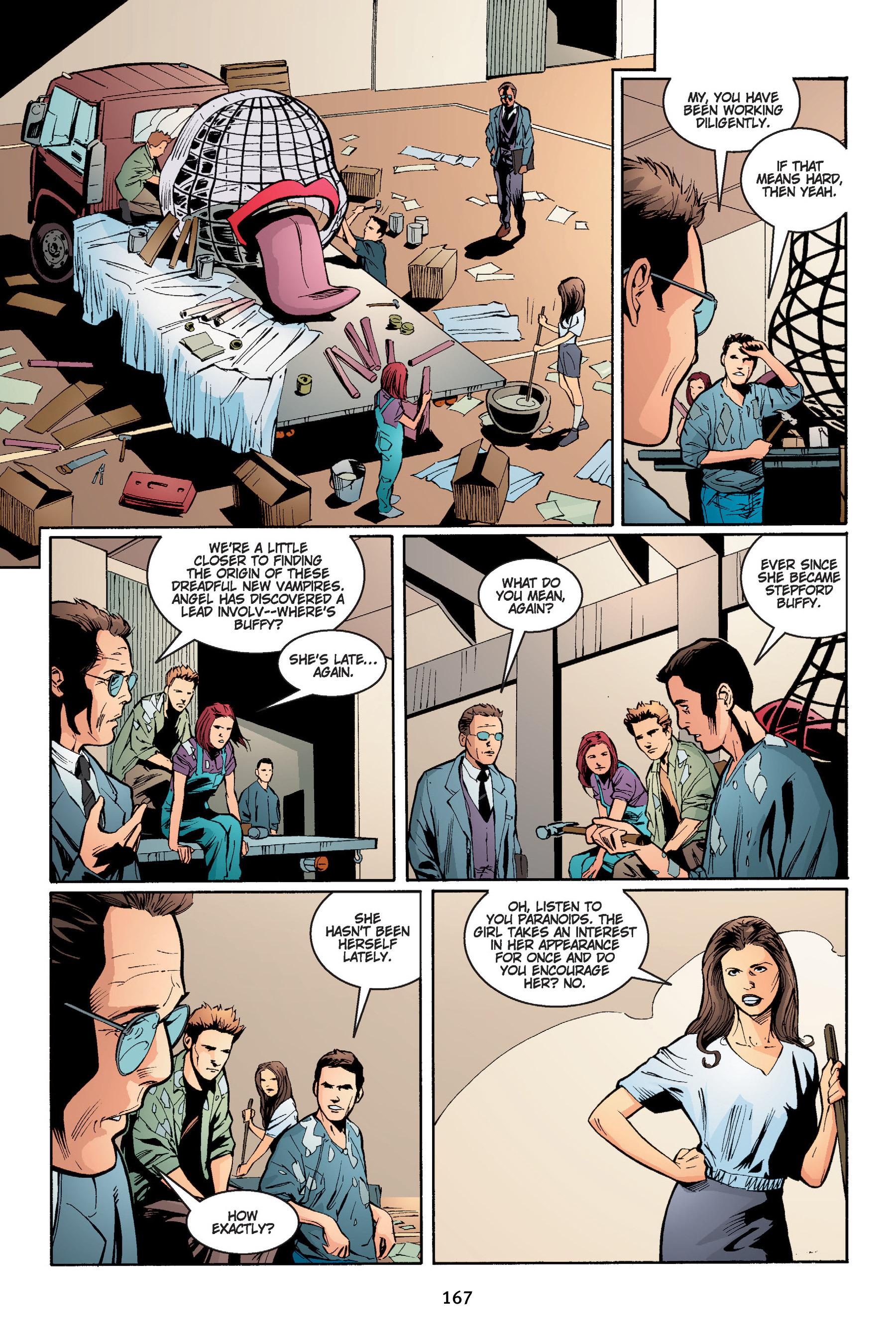 Read online Buffy the Vampire Slayer: Omnibus comic -  Issue # TPB 4 - 168