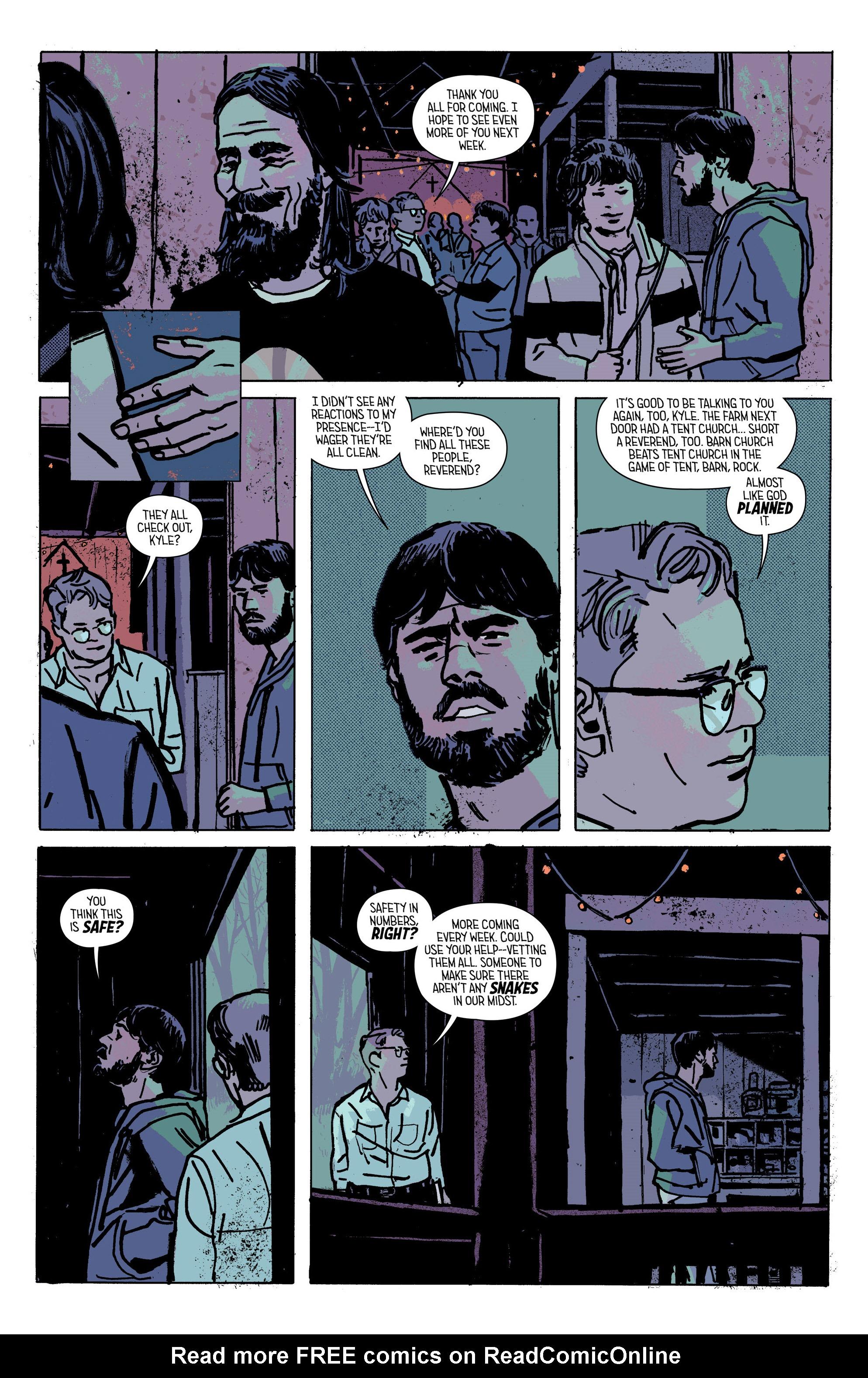 Read online Outcast by Kirkman & Azaceta comic -  Issue #28 - 16