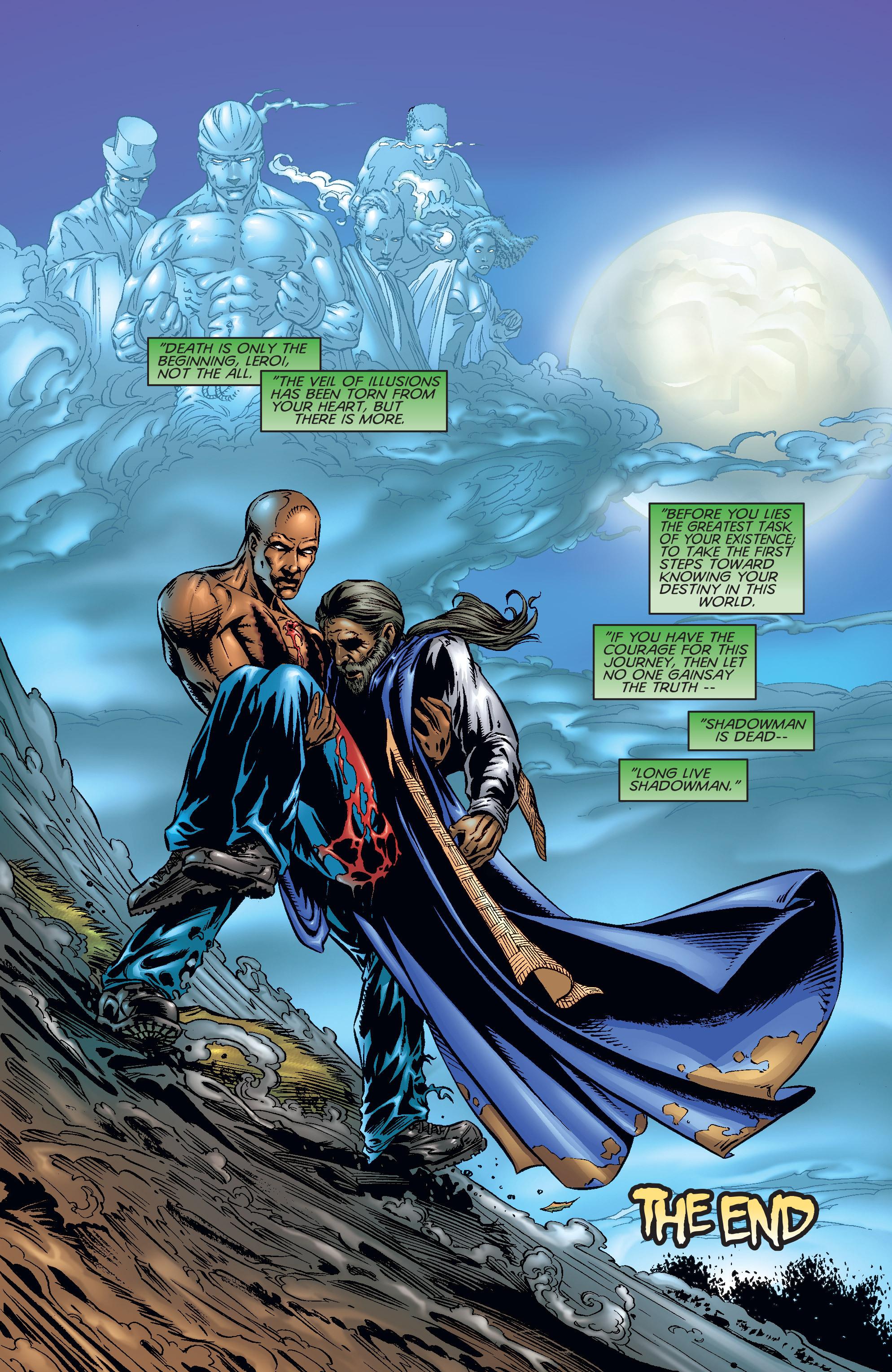 Read online Shadowman (1997) comic -  Issue #17 - 22