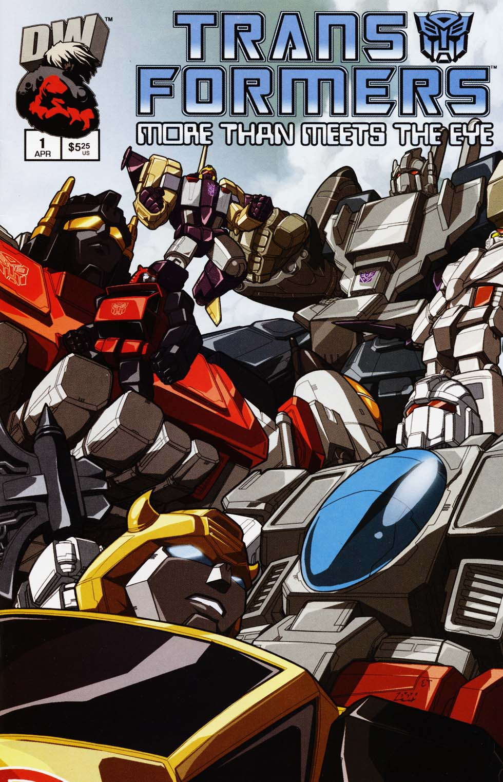Read online Transformers: More than Meets the Eye comic -  Issue #1 - 1