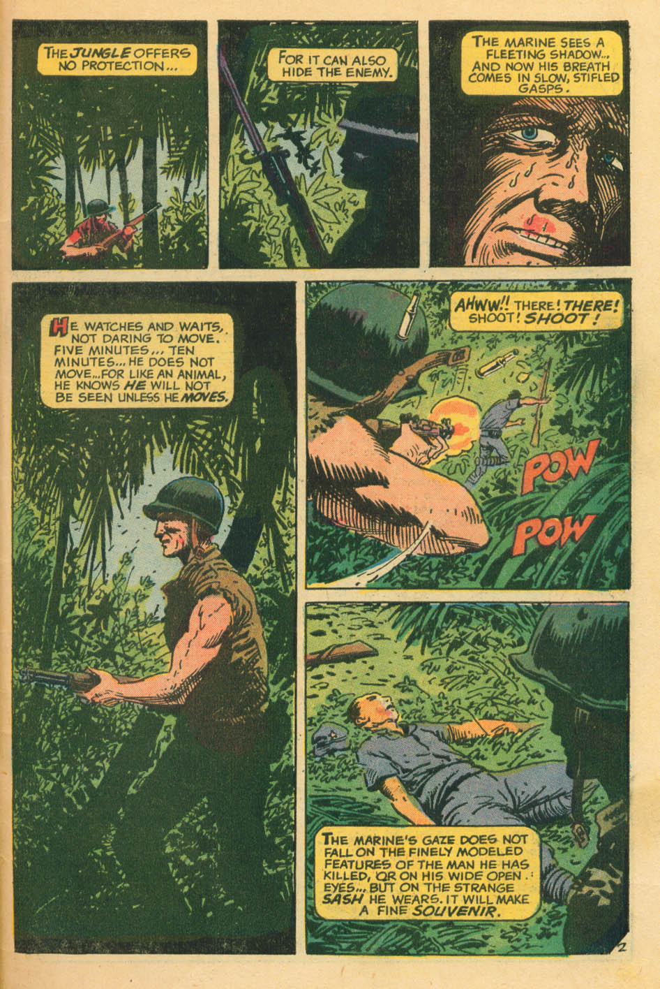Read online Star Spangled War Stories (1952) comic -  Issue #172 - 20