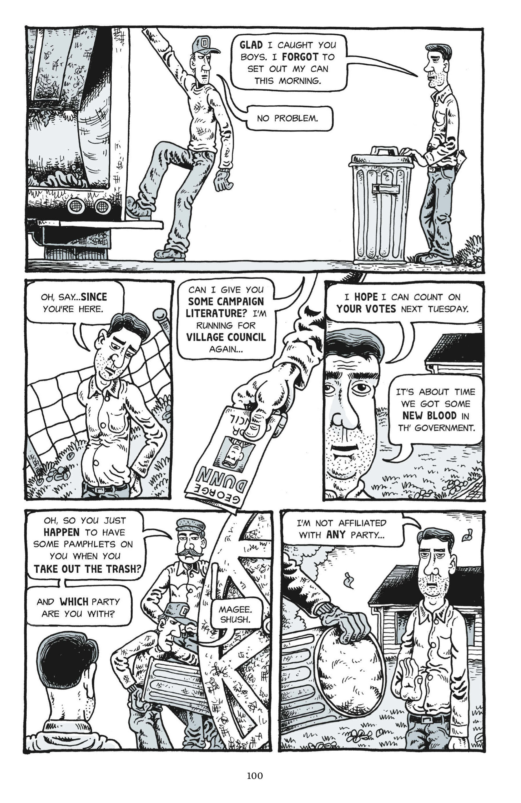 Read online Trashed comic -  Issue # Full - 98