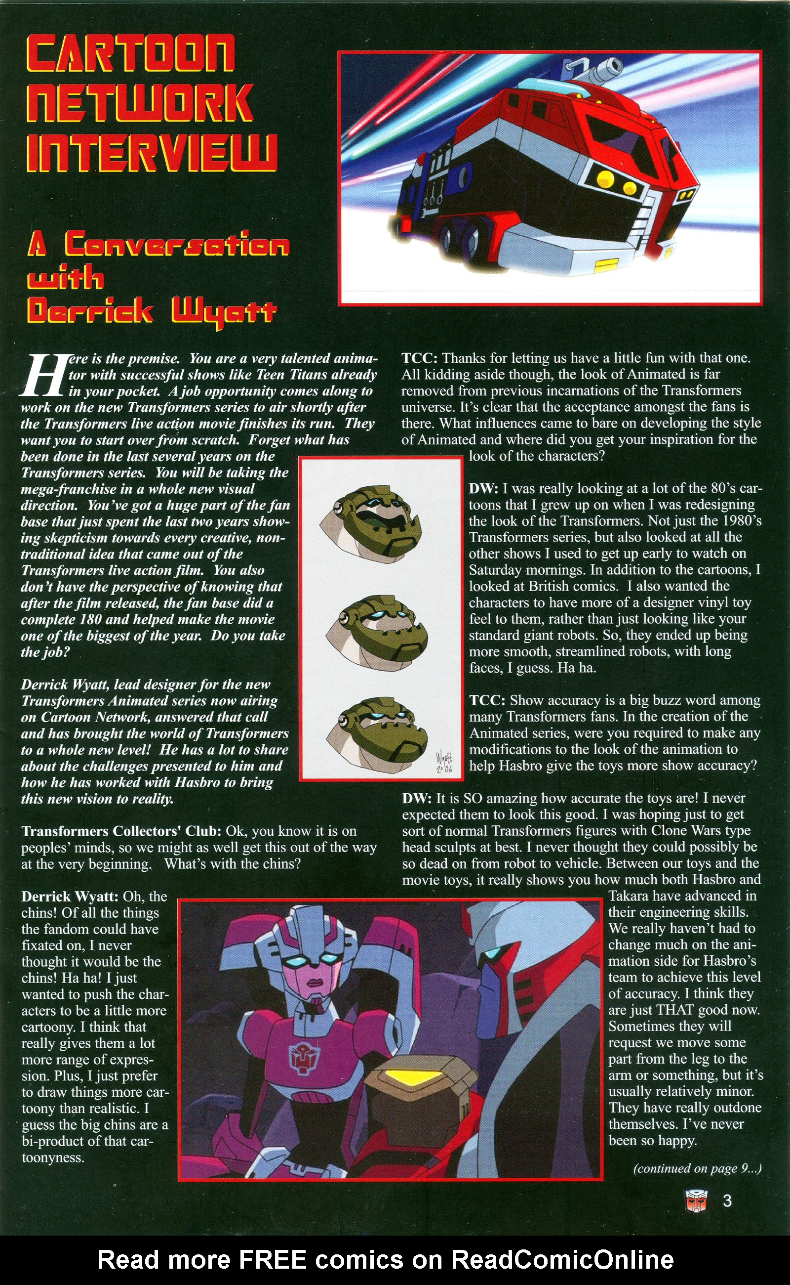 Read online Transformers: Collectors' Club comic -  Issue #19 - 3