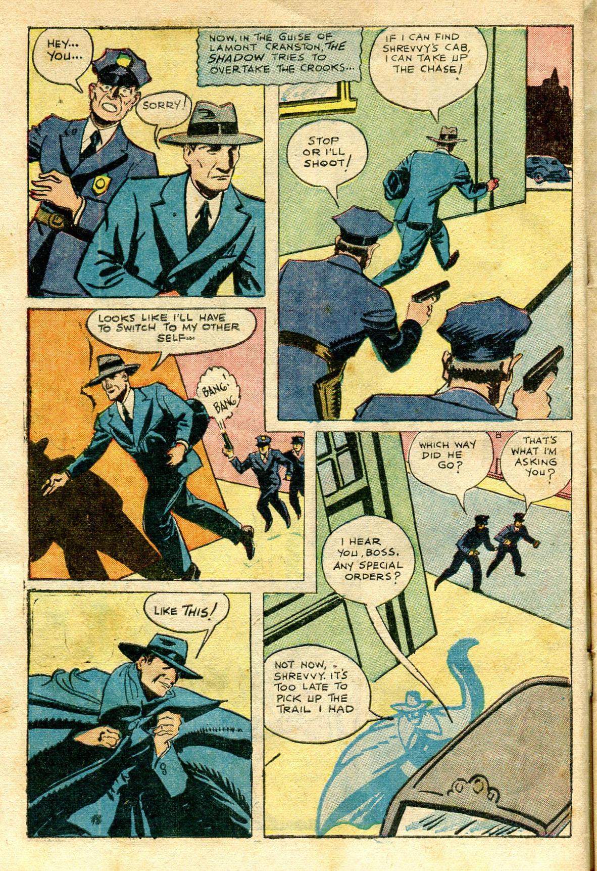 Read online Shadow Comics comic -  Issue #65 - 14