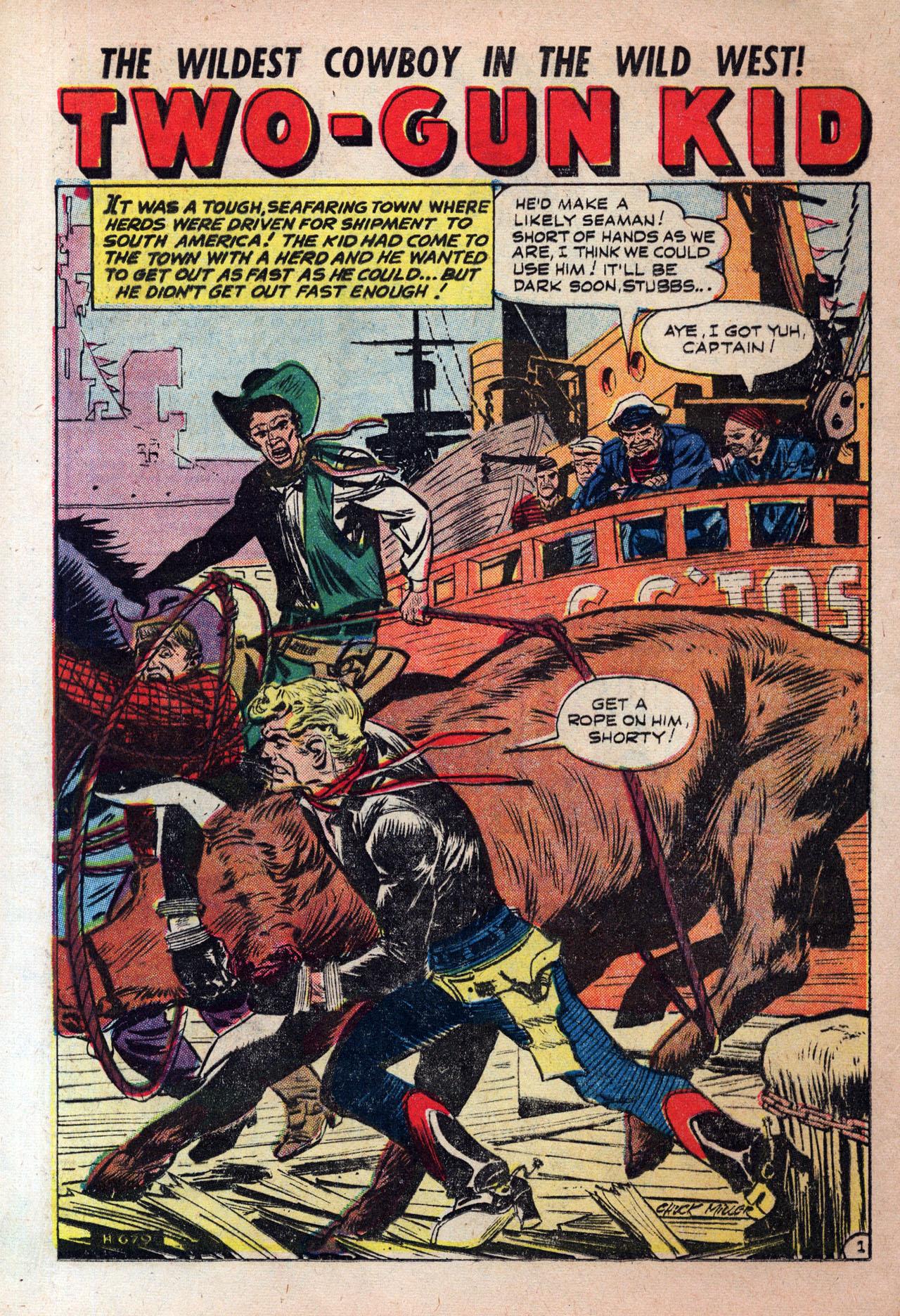 Read online Two-Gun Kid comic -  Issue #30 - 16