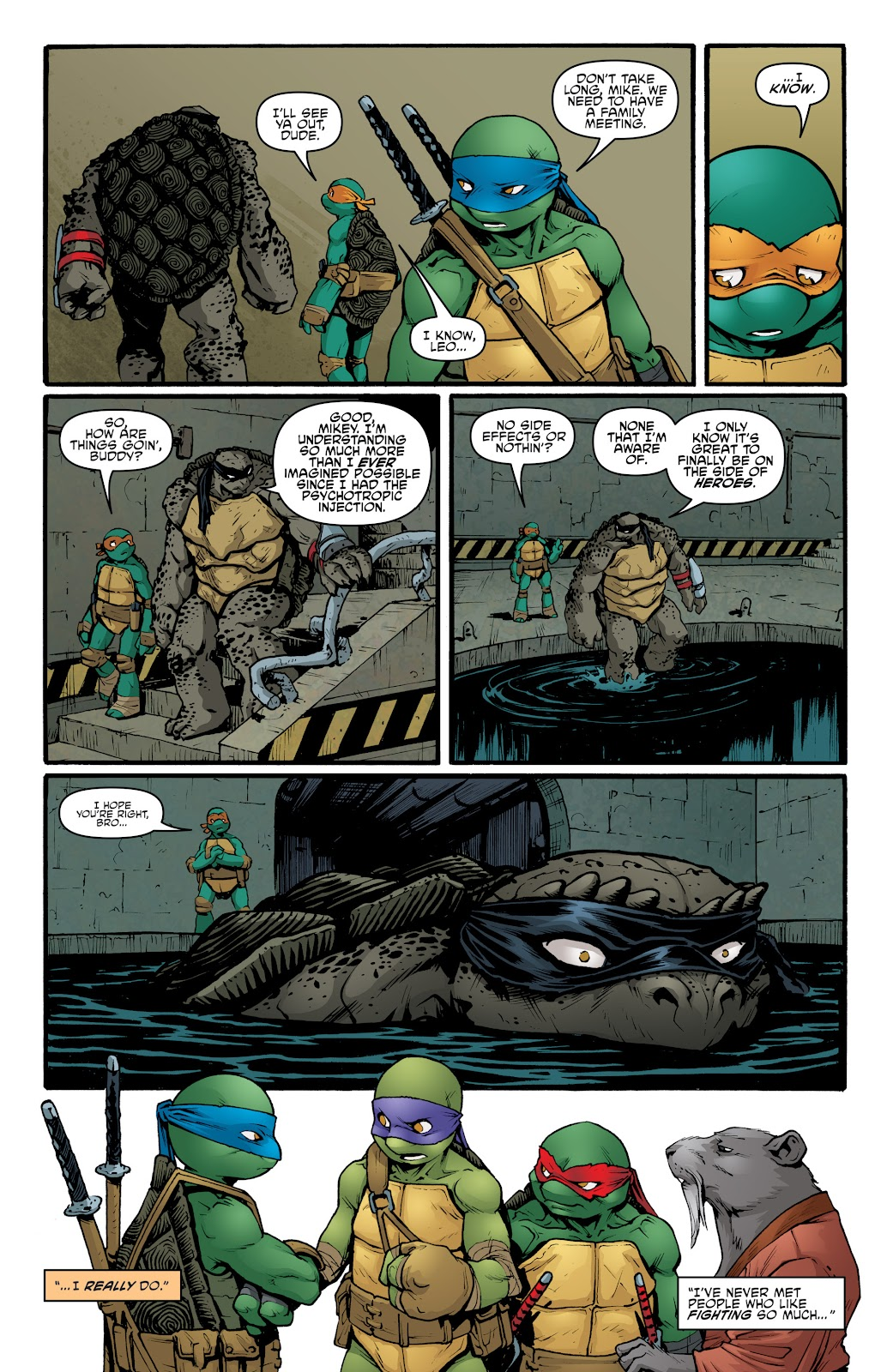 Read online Teenage Mutant Ninja Turtles: The IDW Collection comic -  Issue # TPB 5 (Part 2) - 7