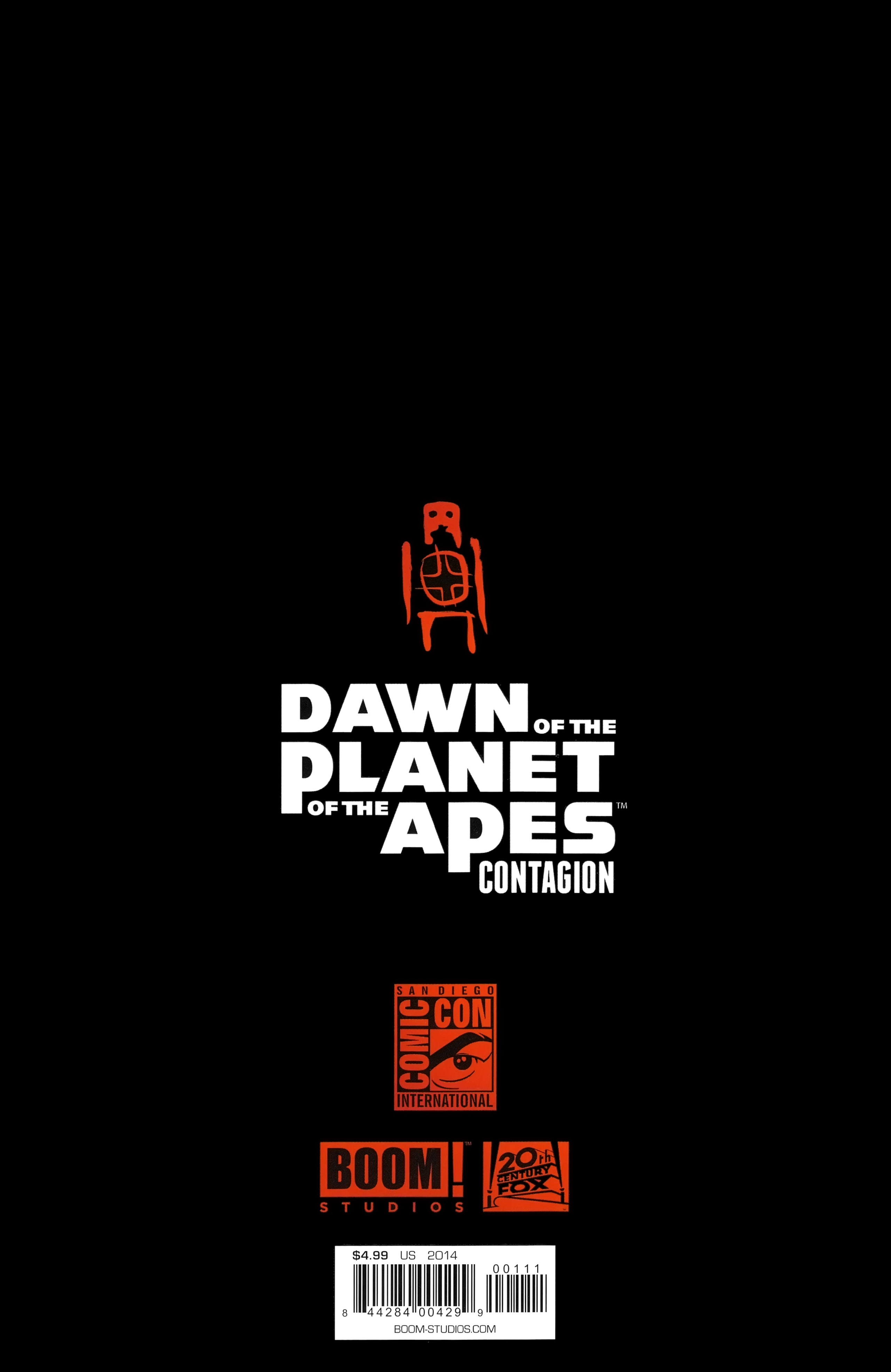 Read online Dawn of the Planet of the Apes:Contagion comic -  Issue # Full - 25