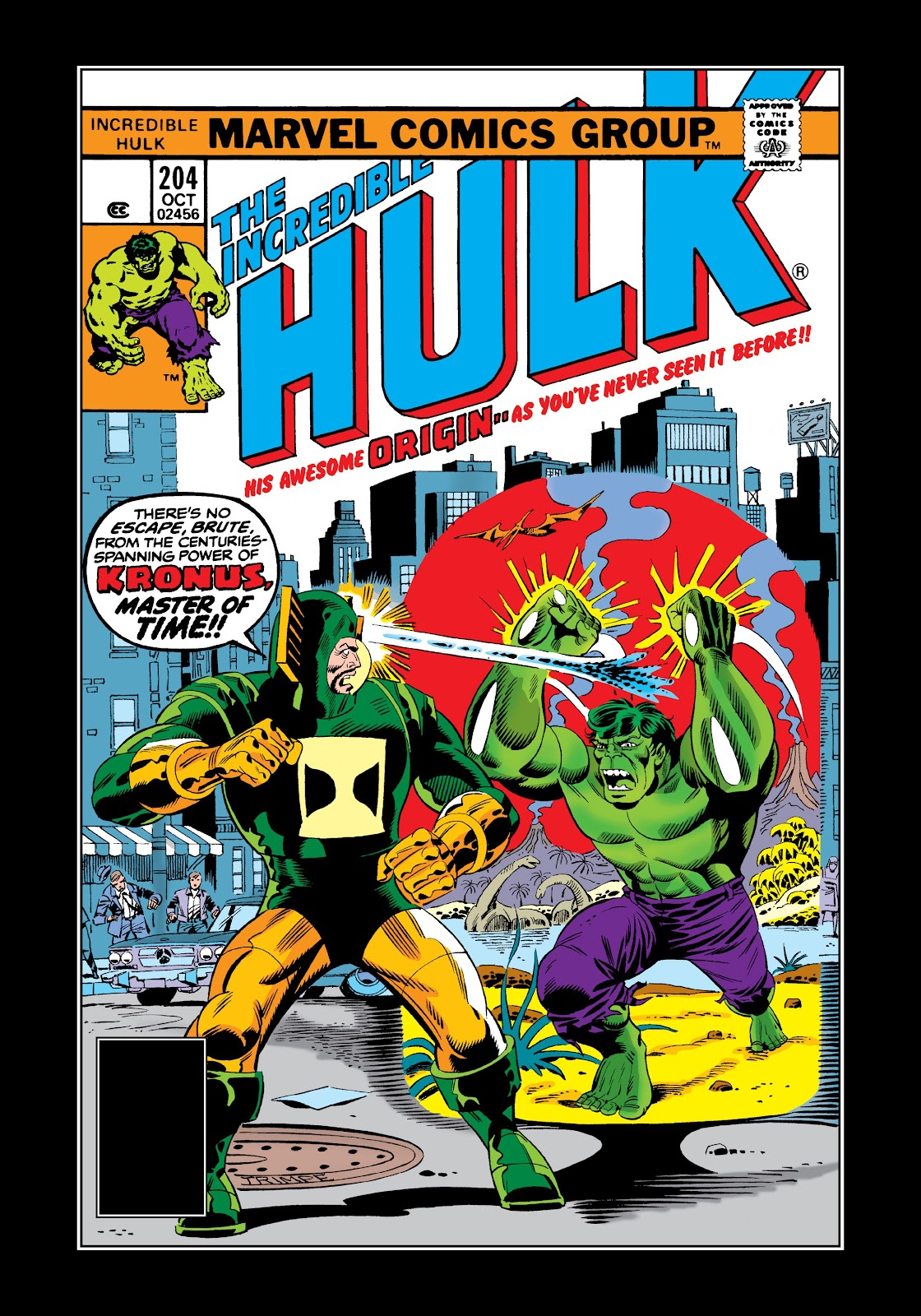 Read online Marvel Masterworks: The Incredible Hulk comic -  Issue # TPB 12 (Part 2) - 73